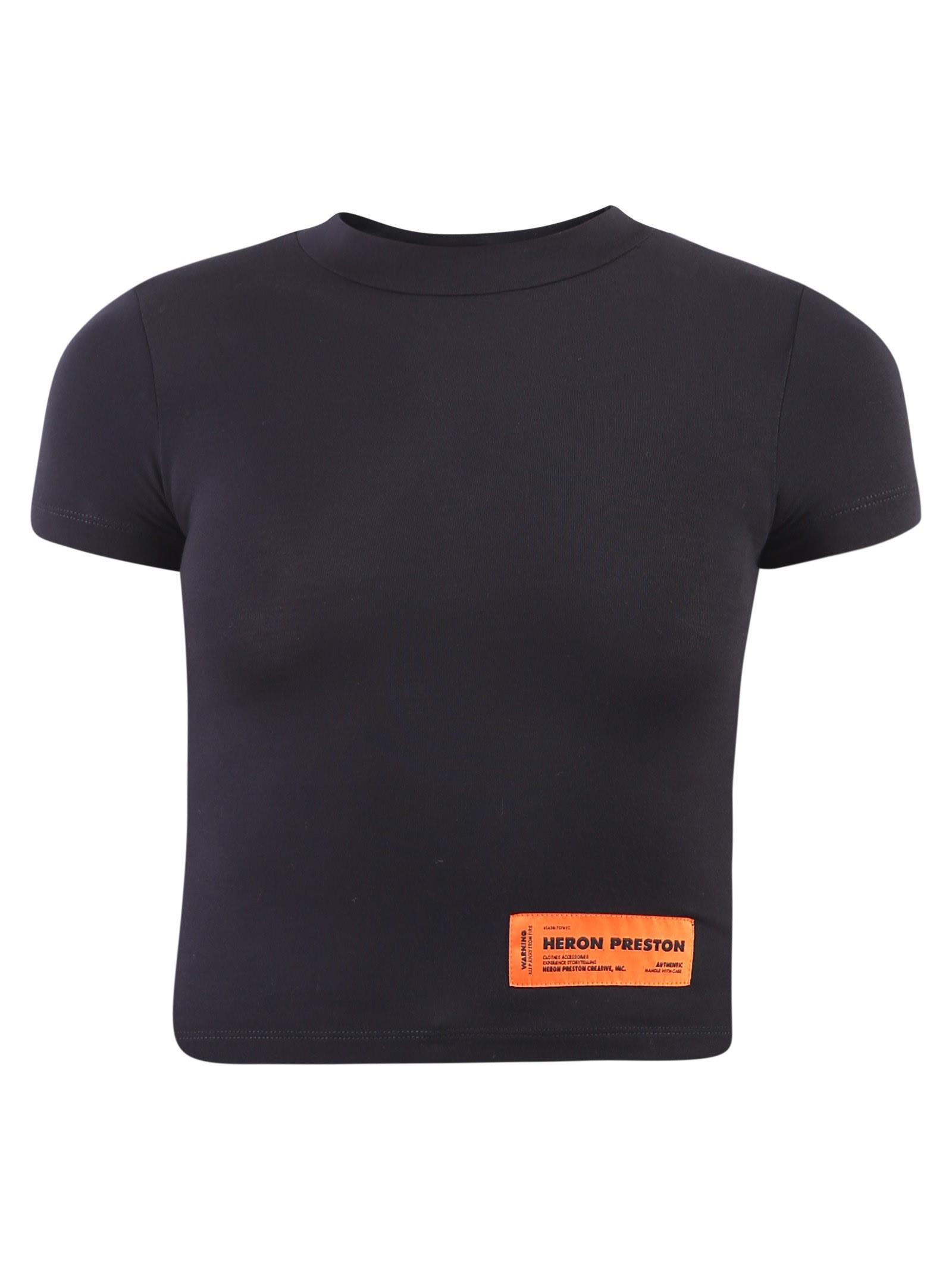 HERON PRESTON Branded T-shirt