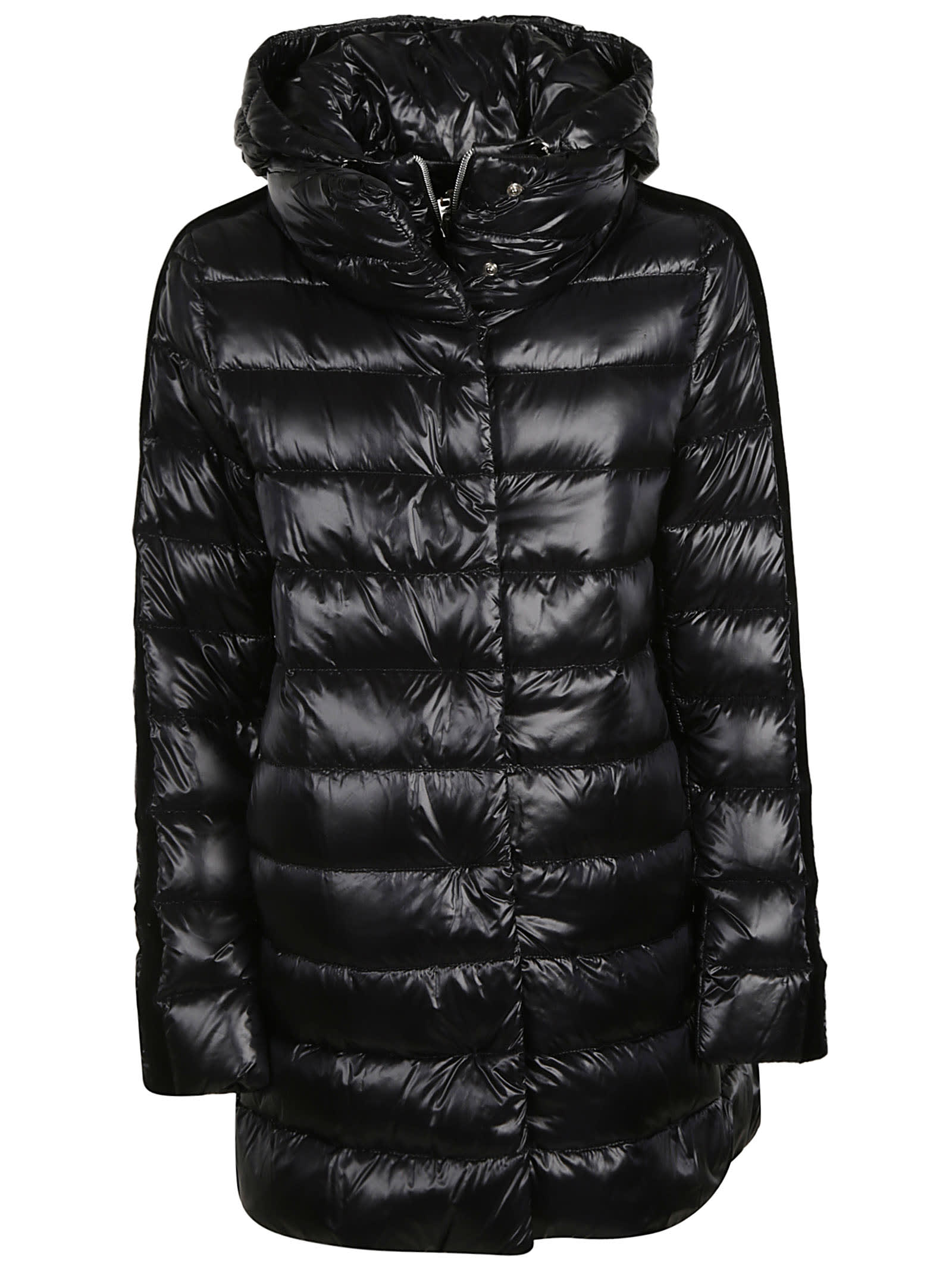 Herno Concealed Zipped Hooded Padded Parka