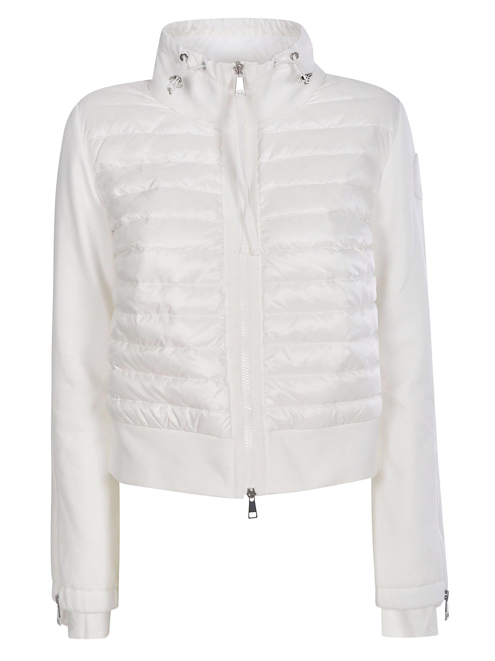 Moncler Zip Padded Cropped Jacket