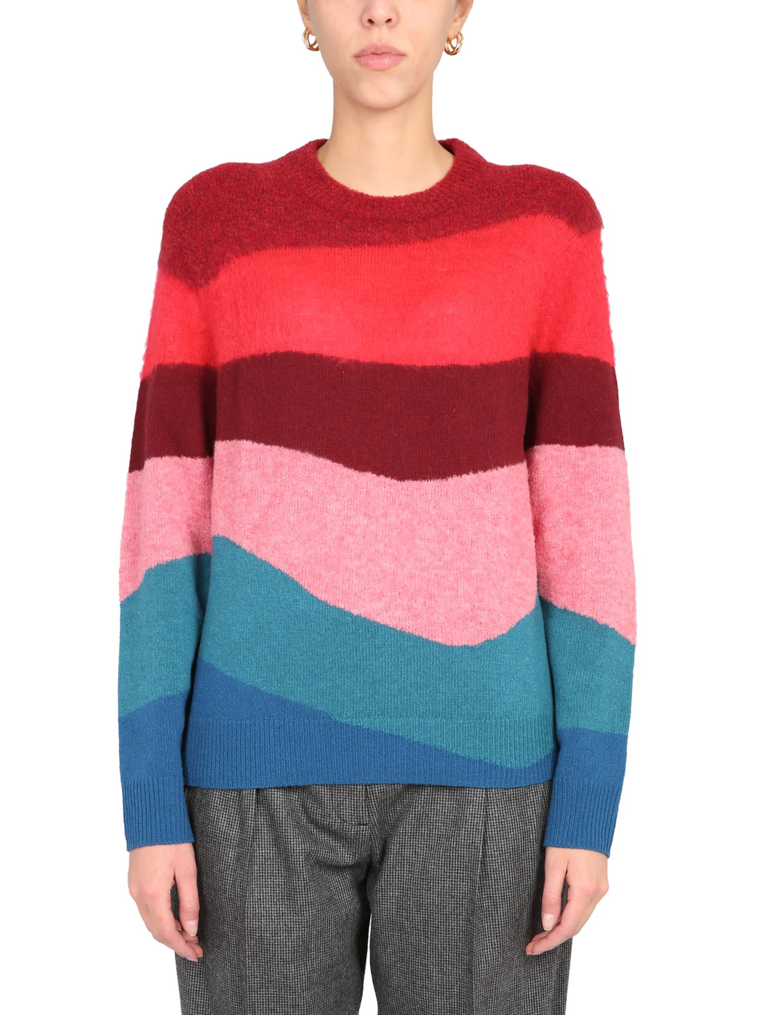 Ps By Paul Smith Sweaters CREW NECK SWEATER