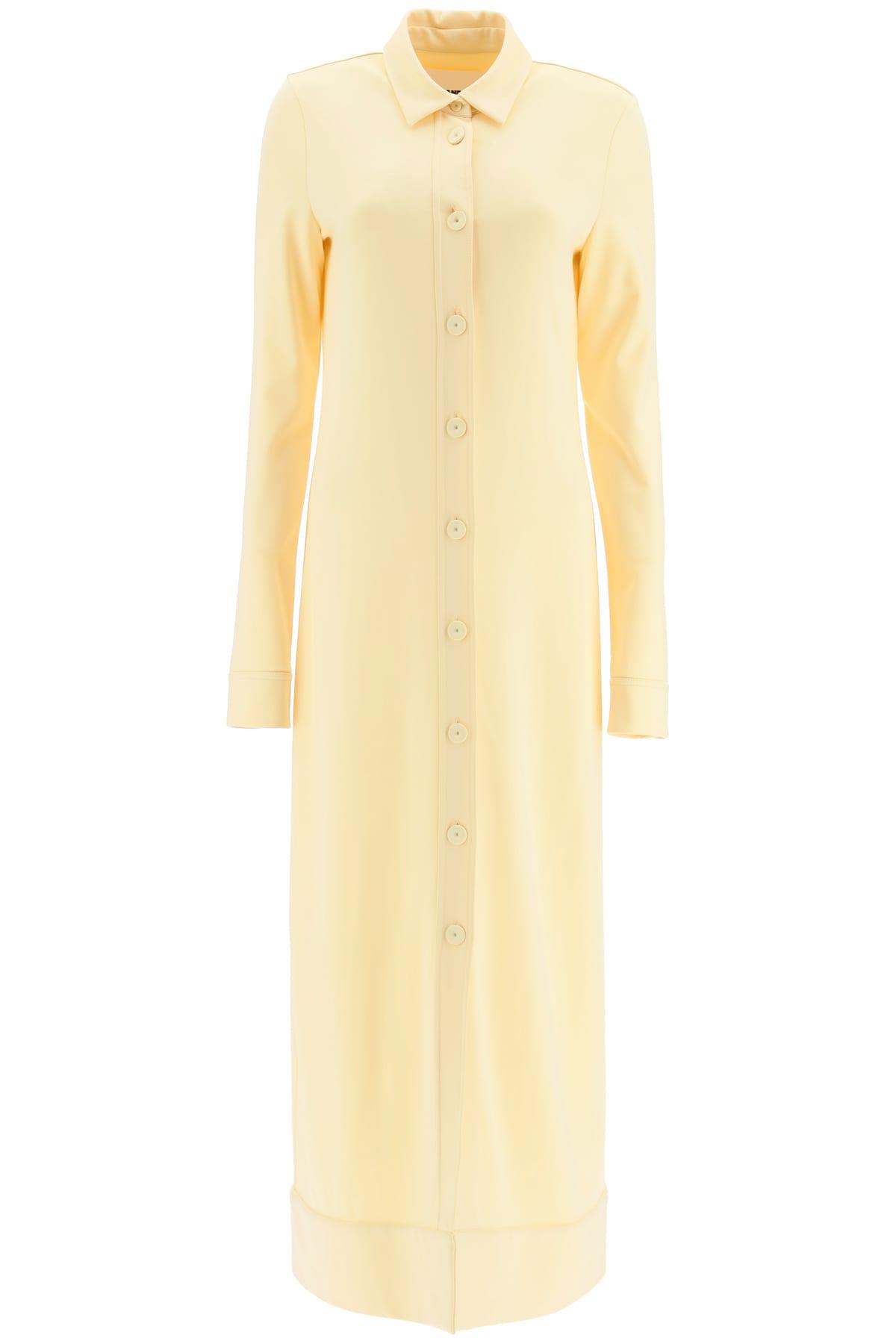 Buy Jil Sander Maxi Shirt Dress online, shop Jil Sander with free shipping