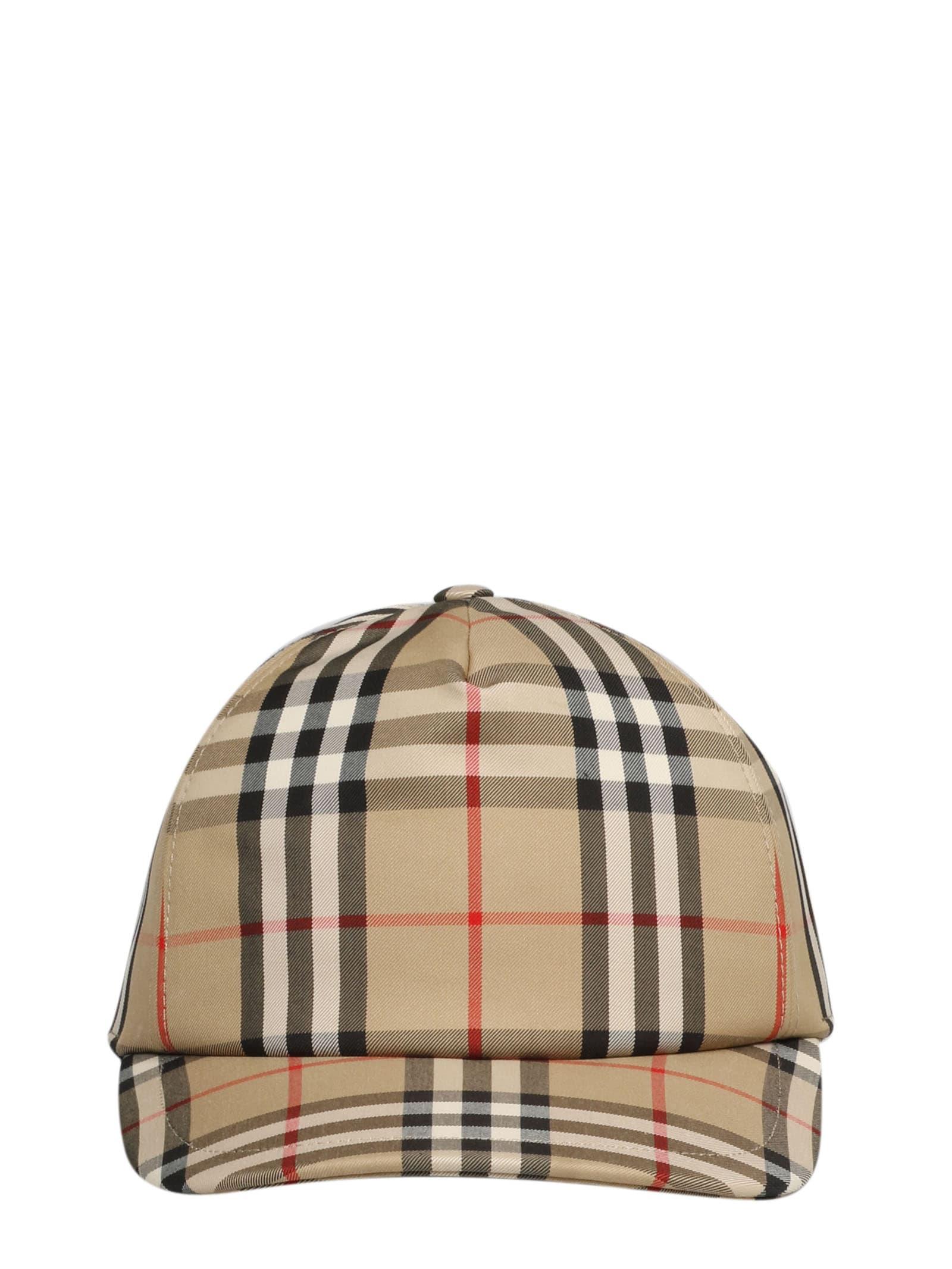 BURBERRY A MH TRUCKER CAP