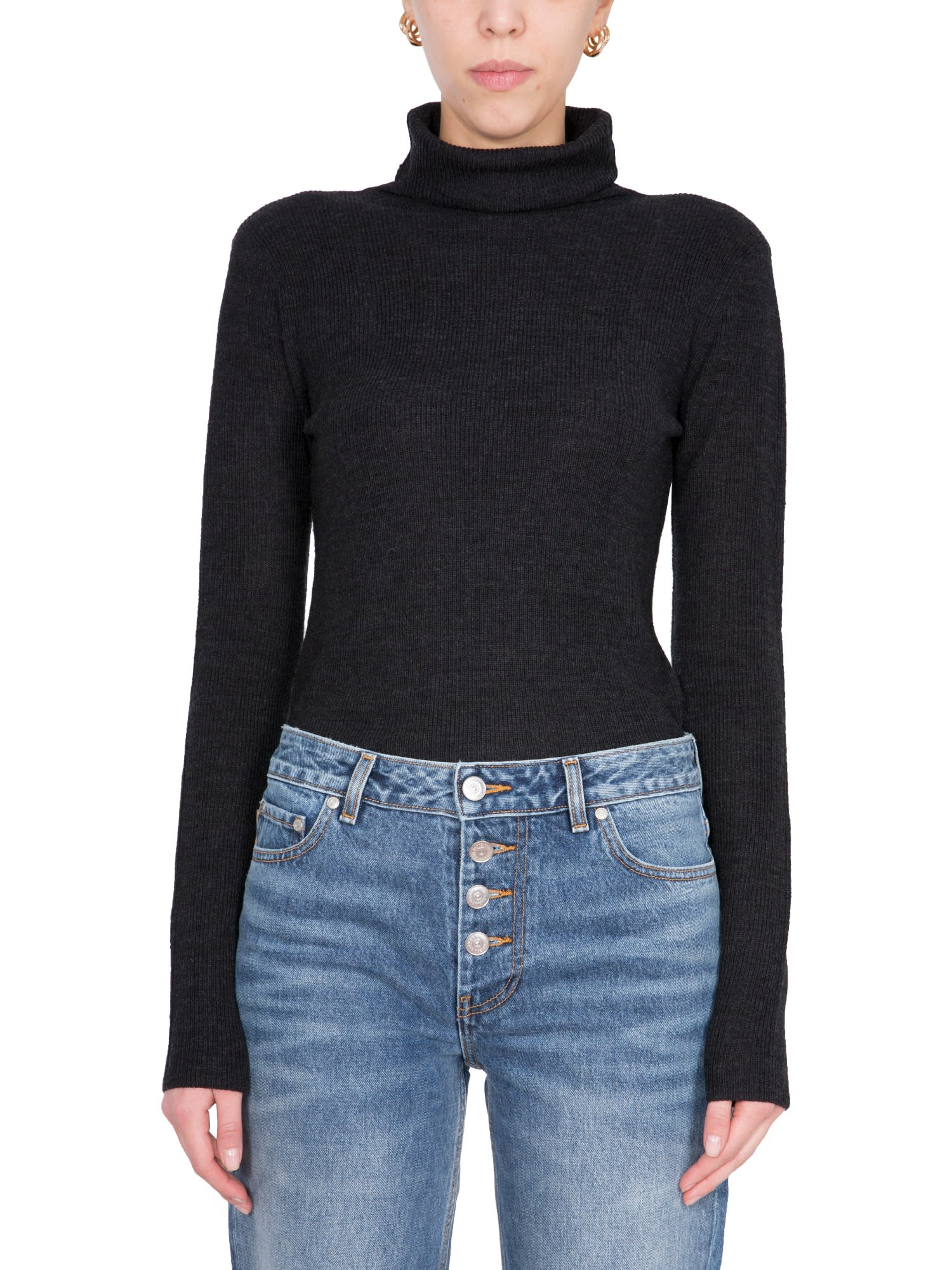 Ganni Tops TURTLE NECK SWEATER