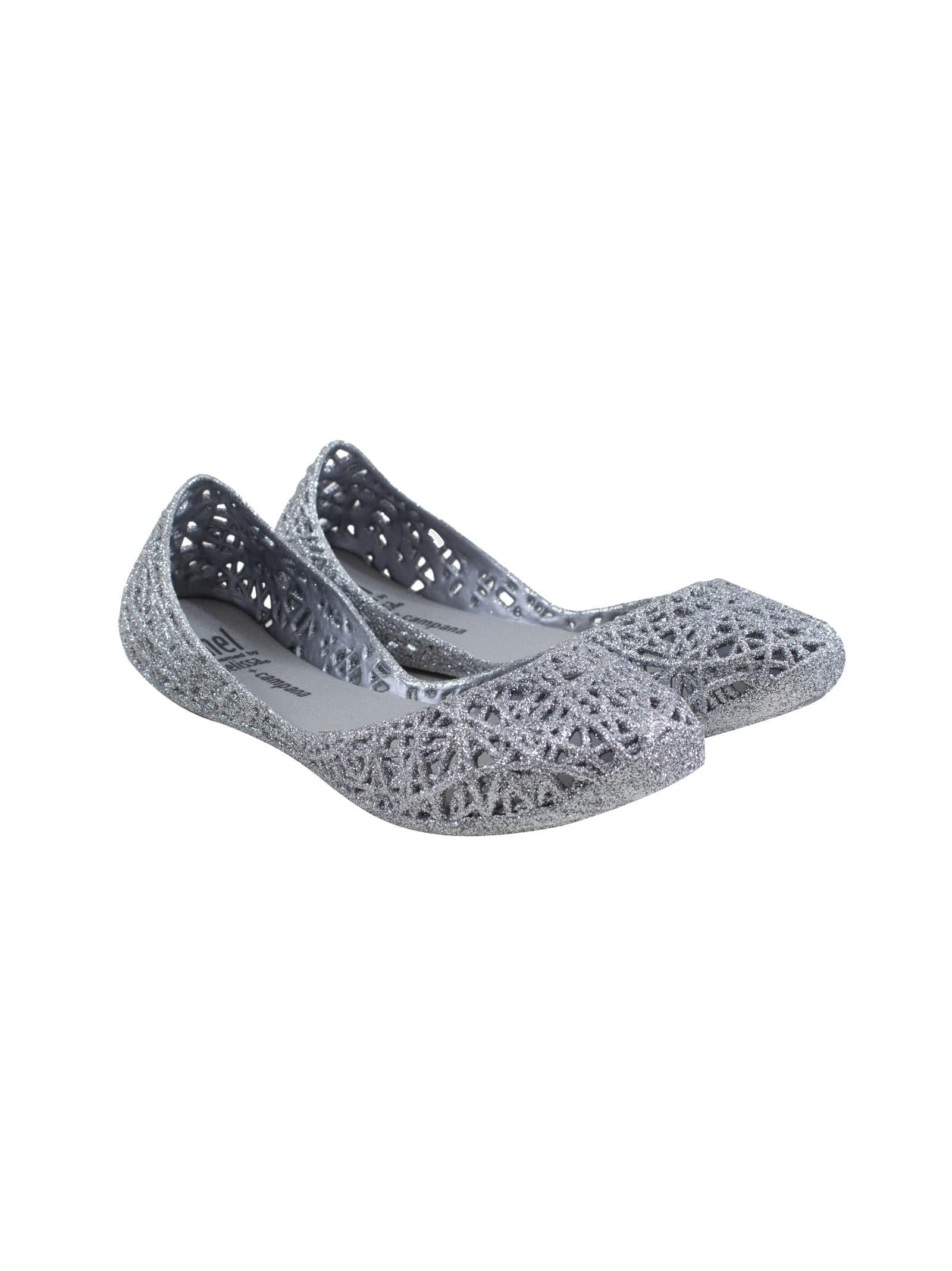 Mel Campana Zig Zag Flat Shoes