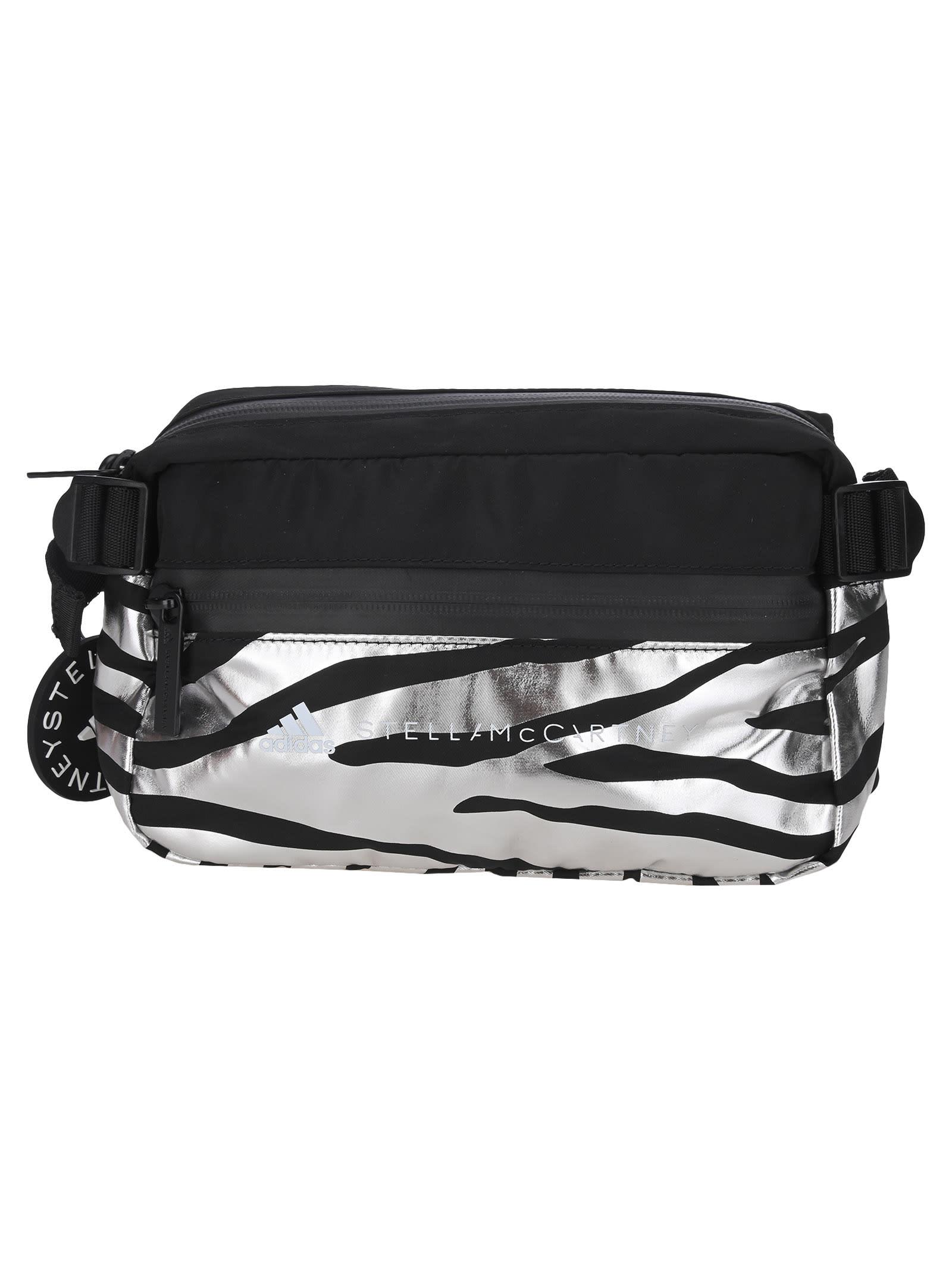 Adidas By Stella Mccartney Bum Bag In Zebra