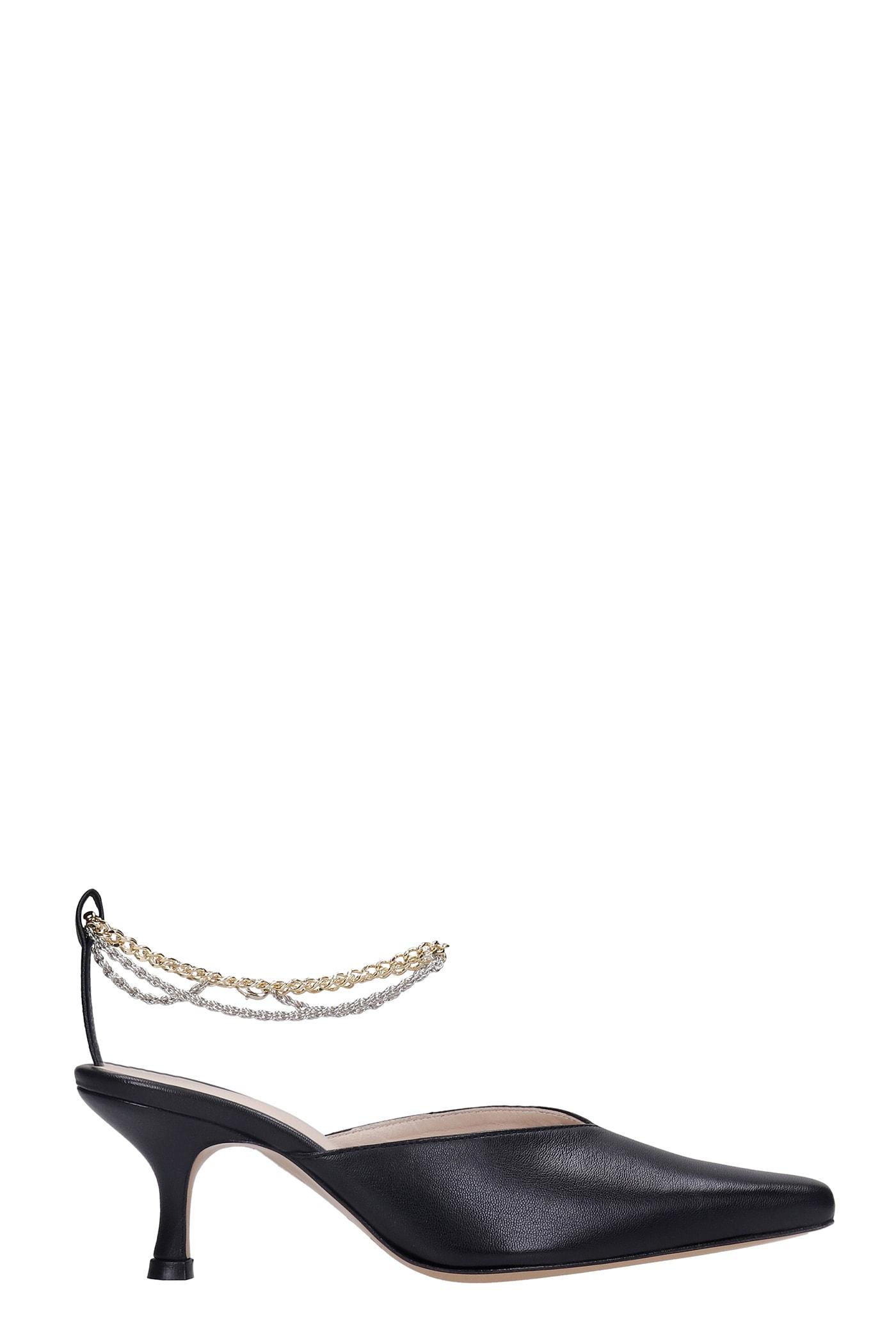 Ara Sandals In Black Leather