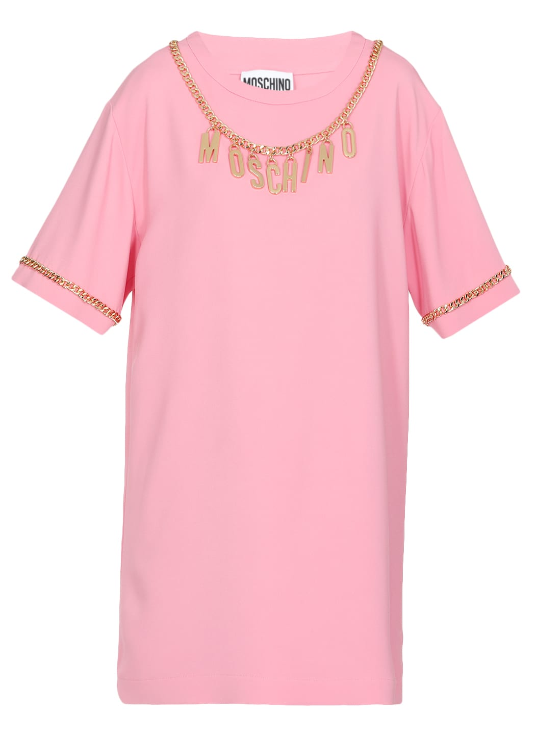 Buy Moschino Fluid Dress online, shop Moschino with free shipping