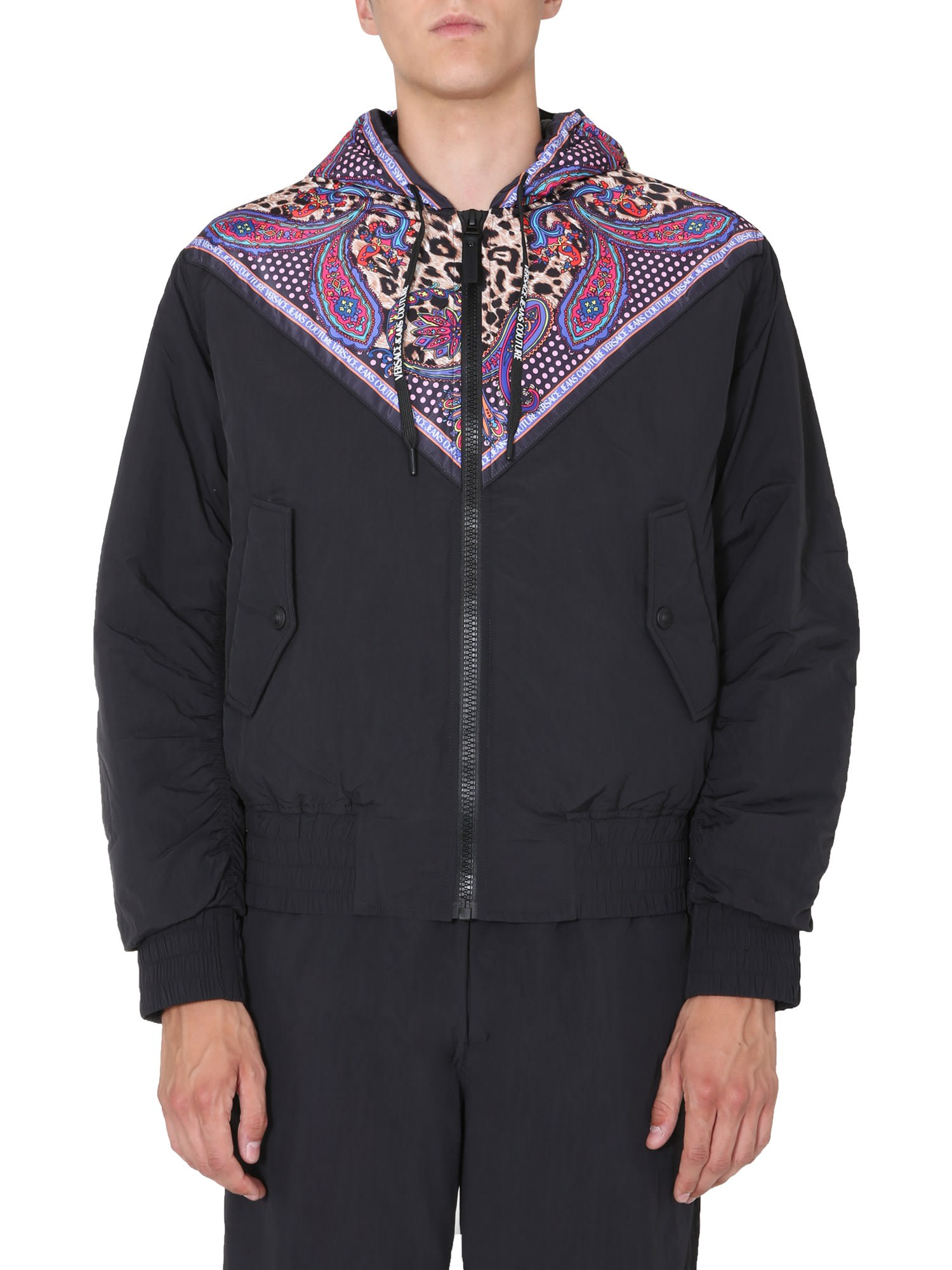 Versace Jeans Couture Bomber jackets HOODED DOWN JACKET