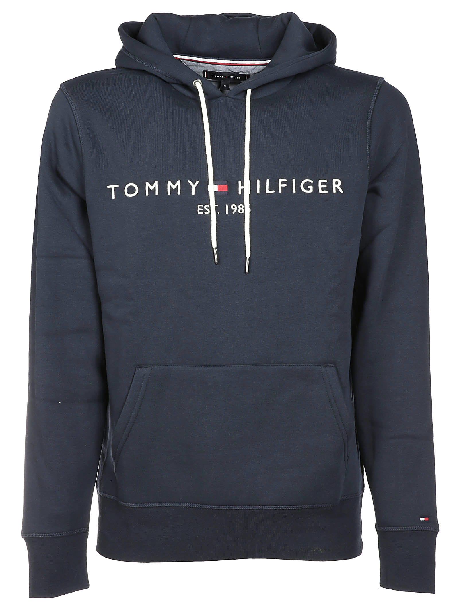 8047b921e1c47 Tommy Hilfiger Logo Hoodie