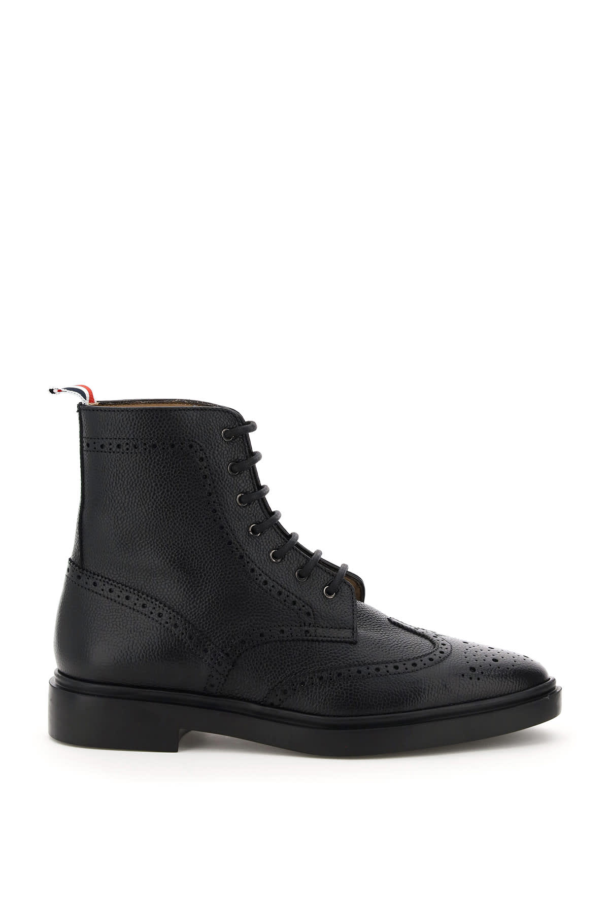 Thom Browne WINGTIP BROGUE ANKLE BOOTS