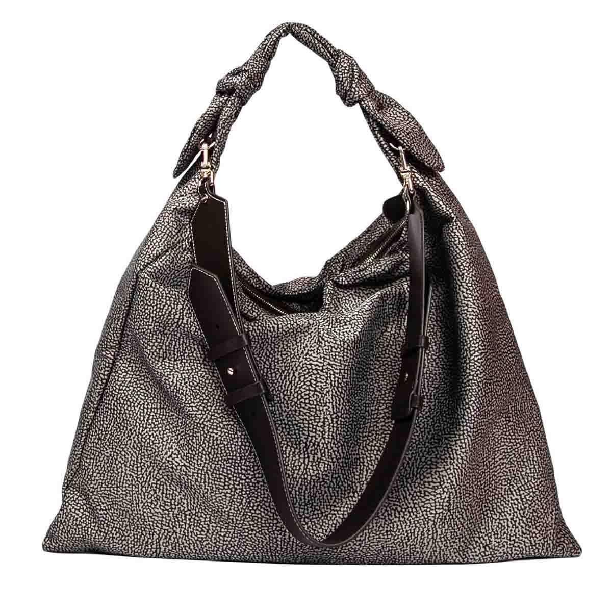 Borbonese Large Desert Hobo Shoulder Bag