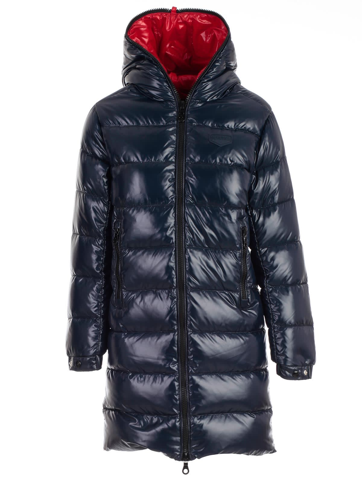big sale 0417f bc4b4 Best price on the market at italist | Duvetica Duvetica Padded Jacket  Interior In Contrast