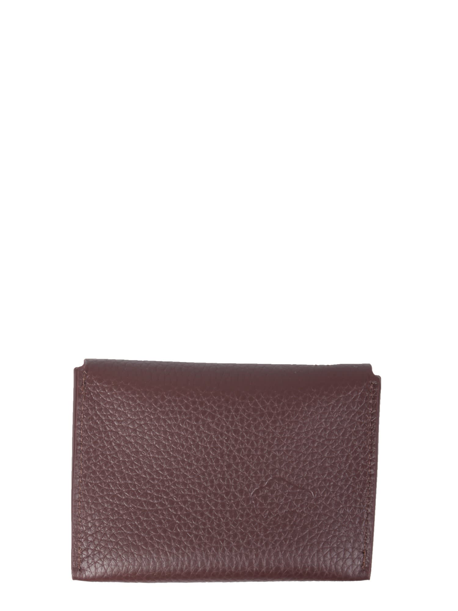 European Leather Card Holder