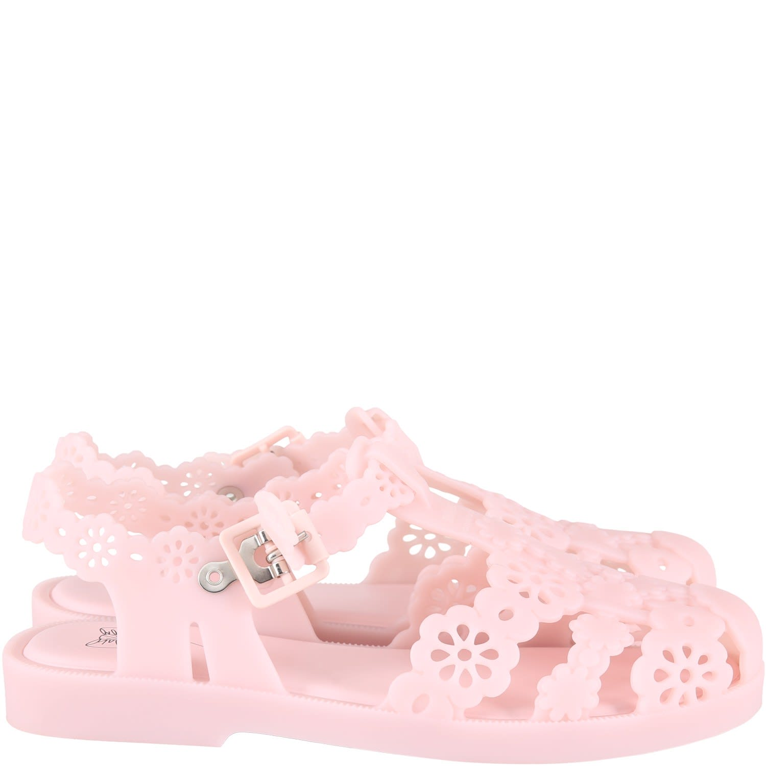 Pink Spider Shoes For Woman