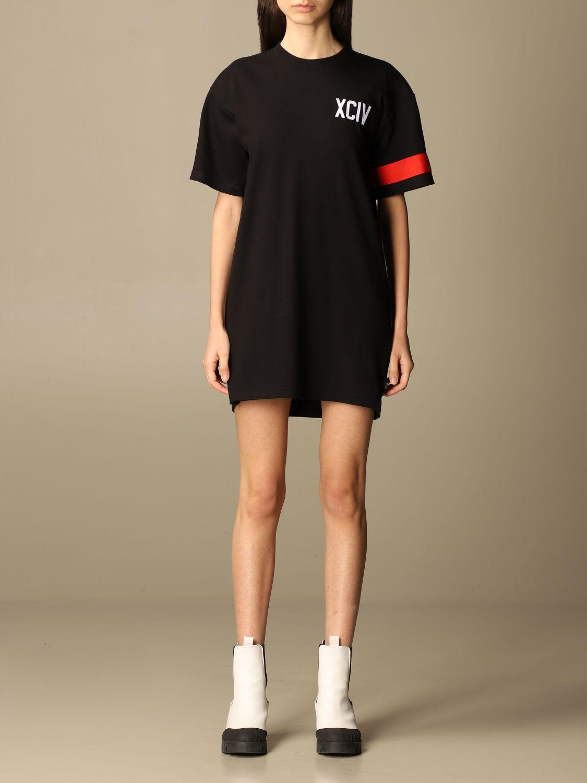 Gcds Dress Gcds T-shirt Dress With Big Logo
