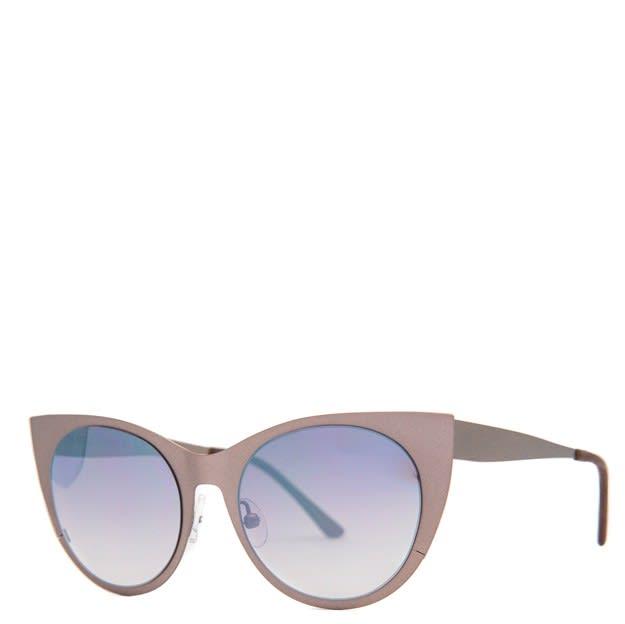 Gun Metal Angel Sunglasses For Girl