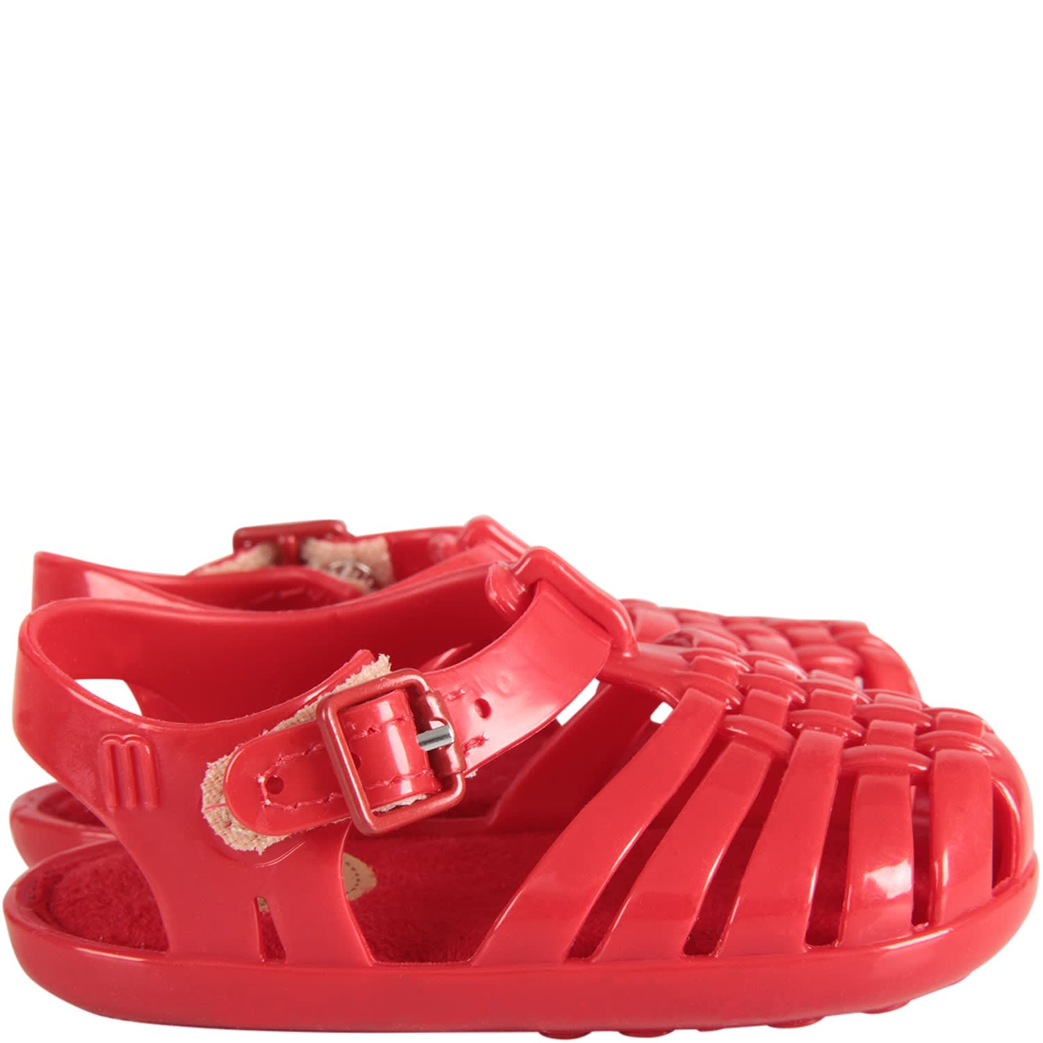 Red Sandals For Baby Kid