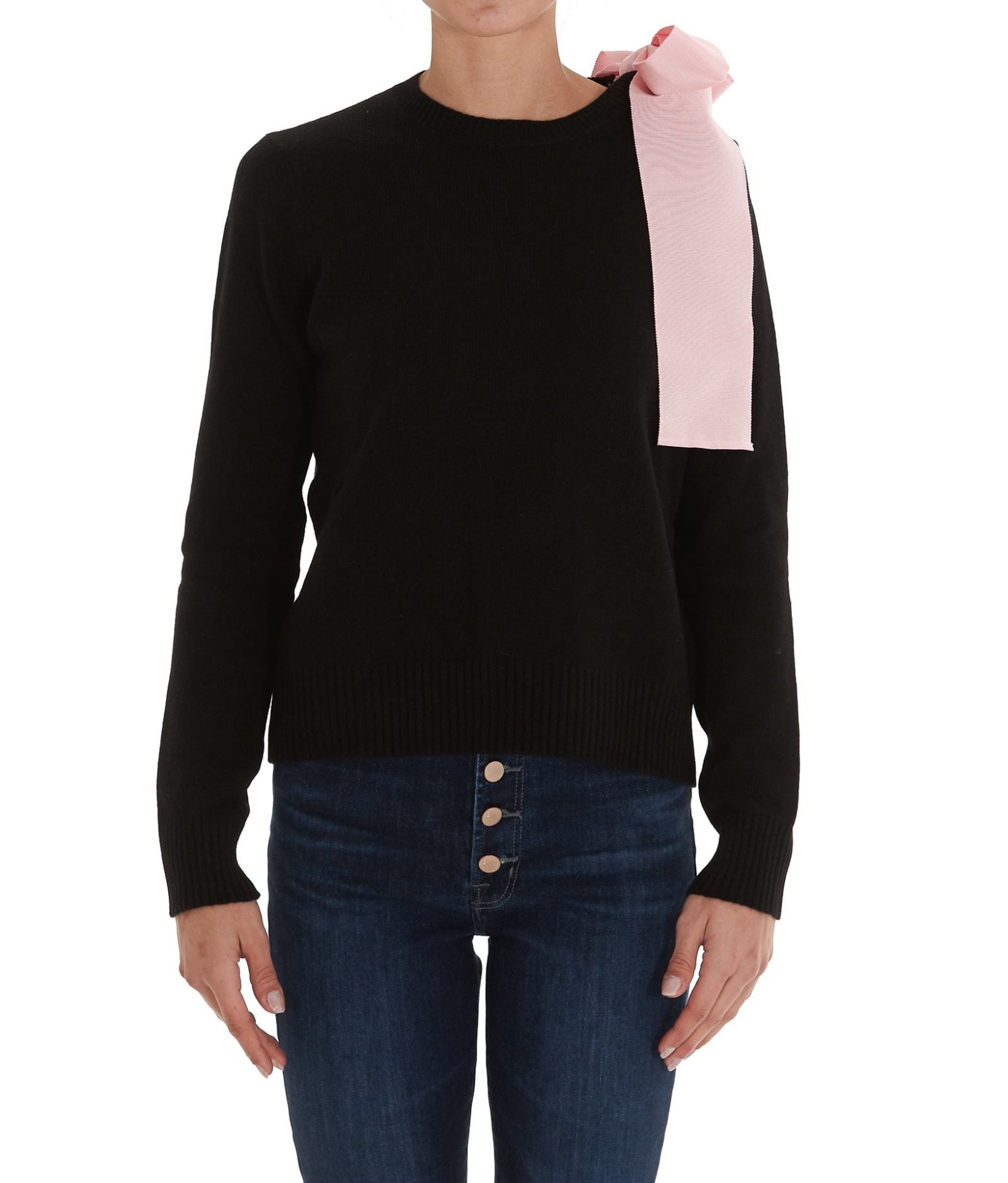Red Valentino Bow Detail Sweater