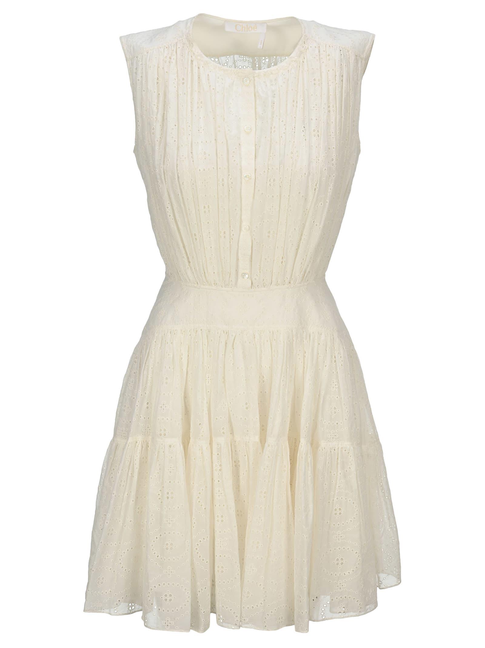 Buy Chloe Sleeveless Mini Dress online, shop Chloé with free shipping
