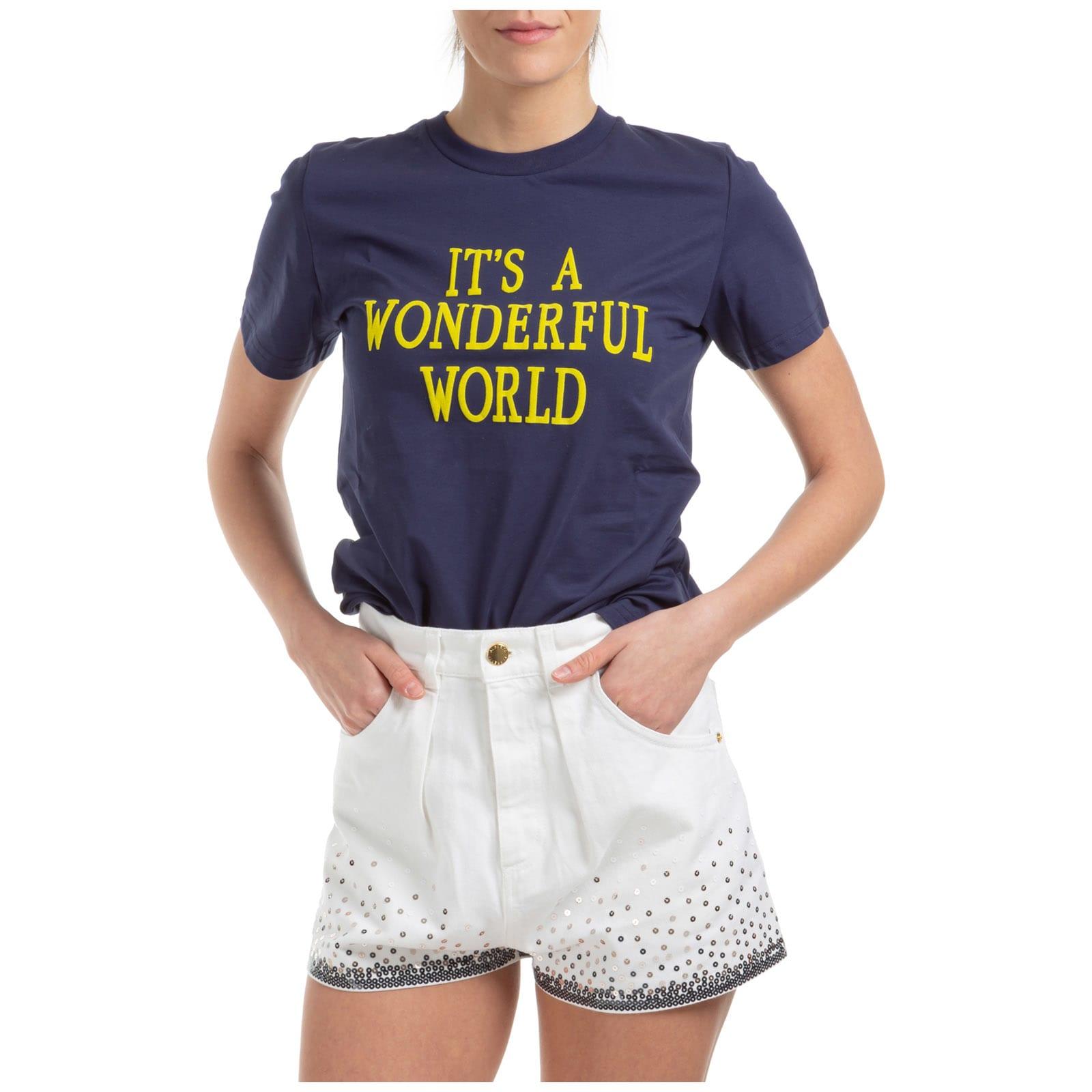 Alberta Ferretti Its A Wonderful World T-shirt