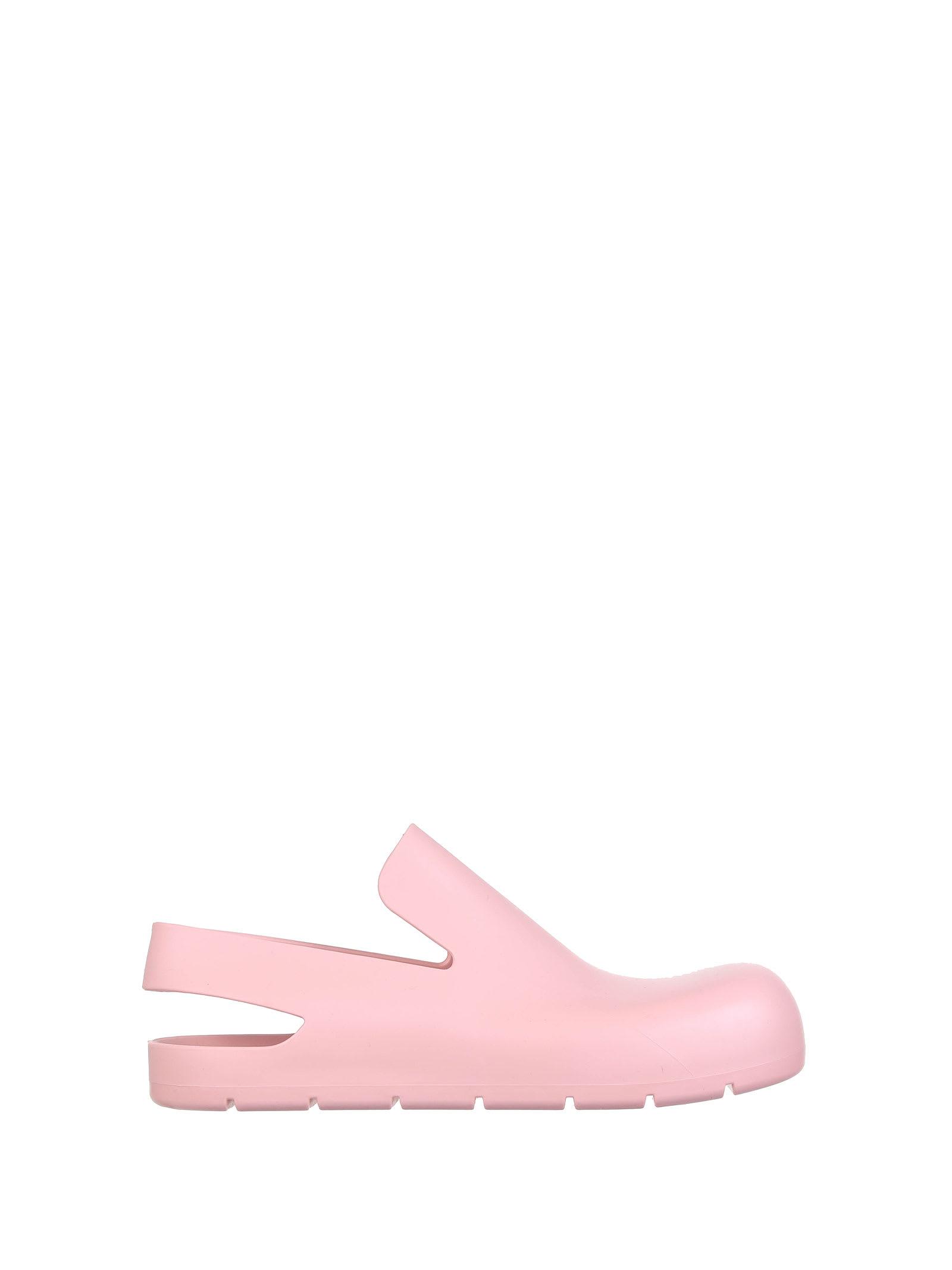 Buy Bottega Veneta Peachy Slides online, shop Bottega Veneta shoes with free shipping