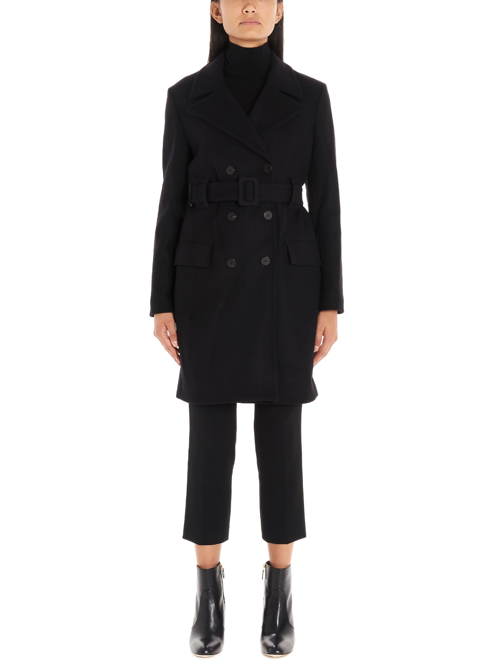 Theory long Peacoat Coat