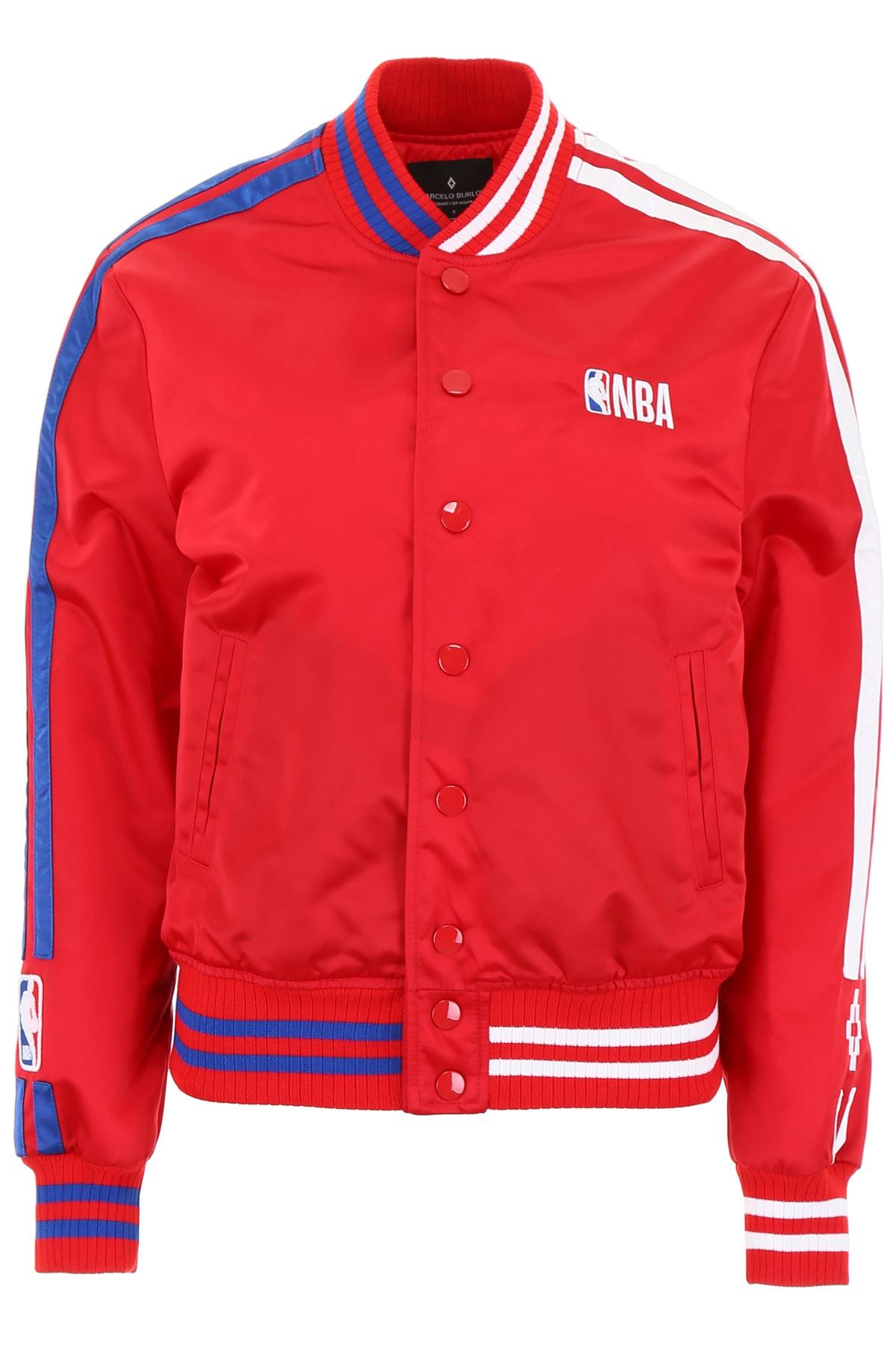Marcelo Burlon Nba Bomber Jacket