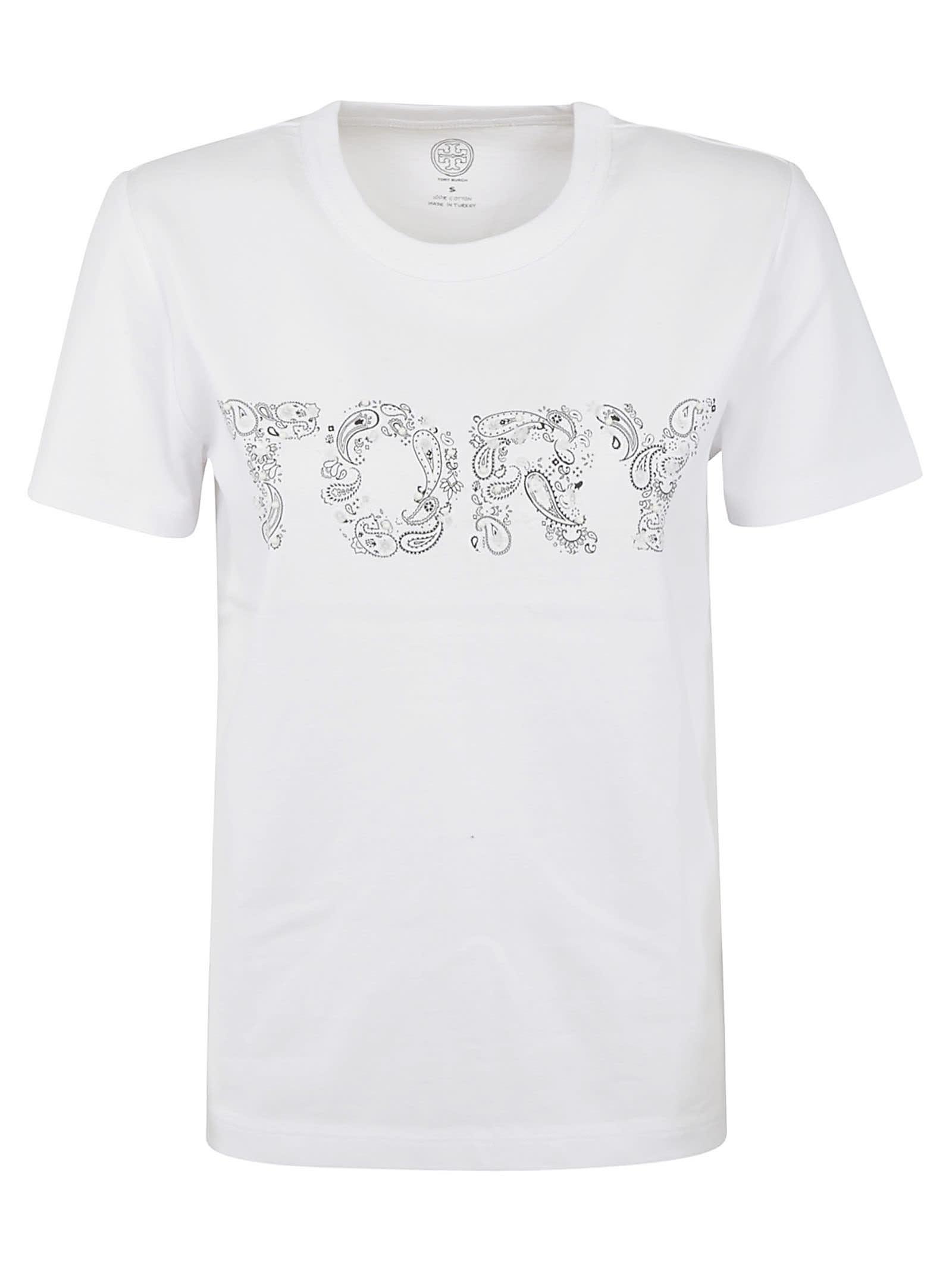 Tory Burch Tory Paisley T-shirt
