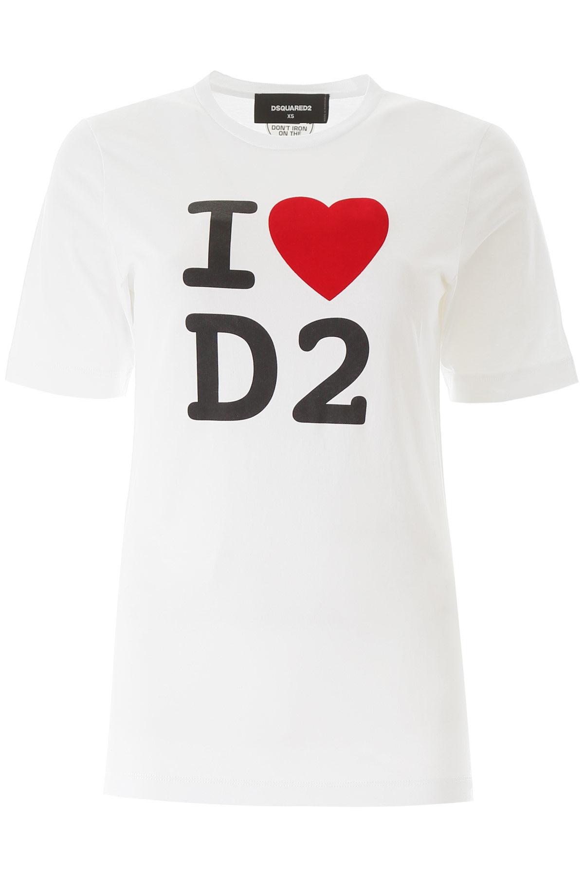 Dsquared2 I Love D2 Print T-shirt