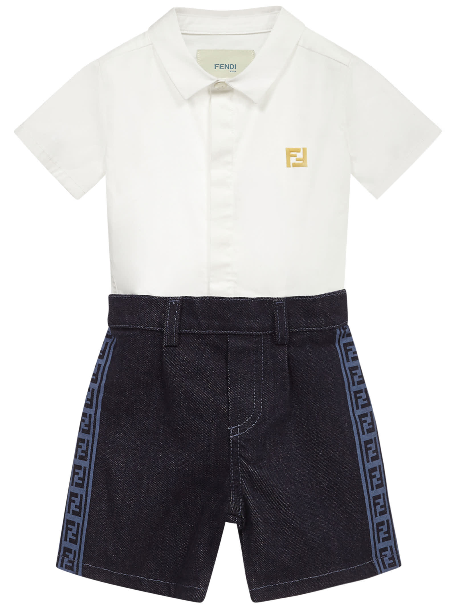 Fendi Jumpsuits KIDS ROMPER SUIT