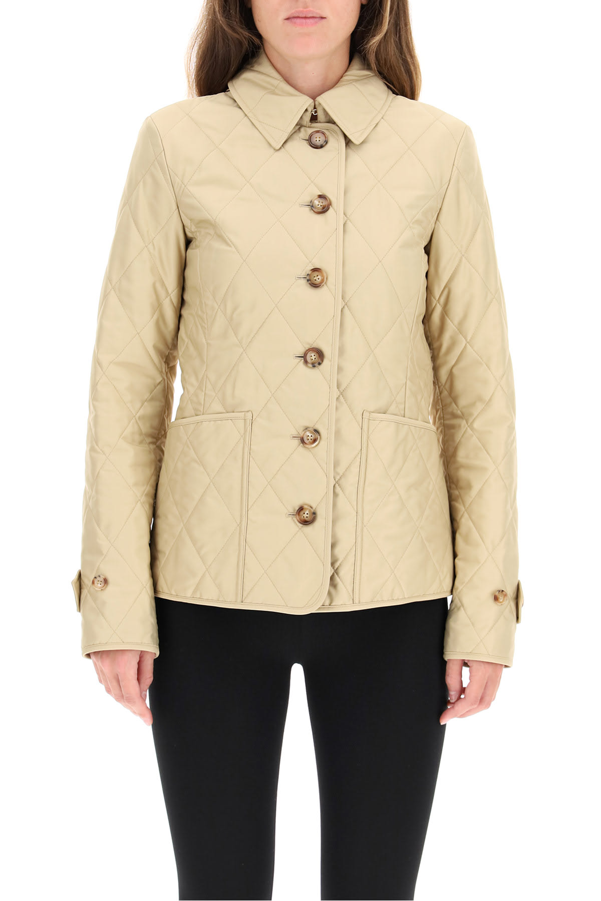 Fashion Style Burberry Fernleigh Padded Jacket