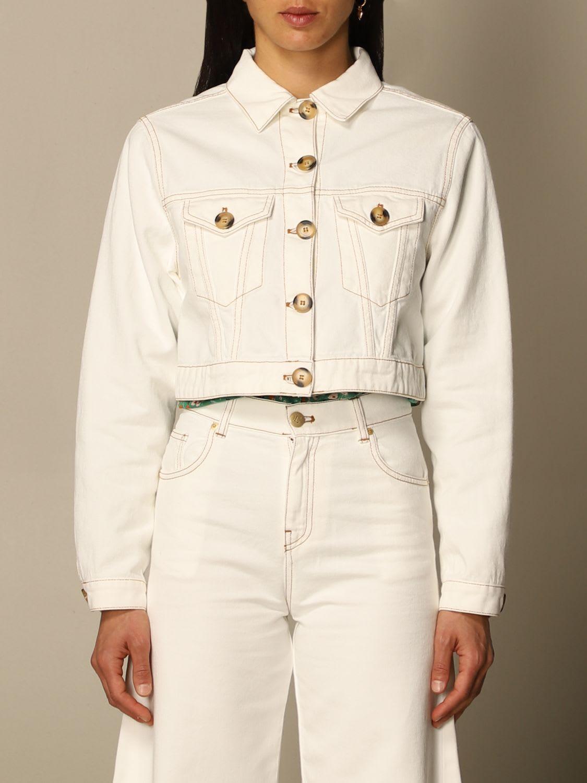 Lautre Chose Jacket Lautre Chose Cropped Jacket In Cotton
