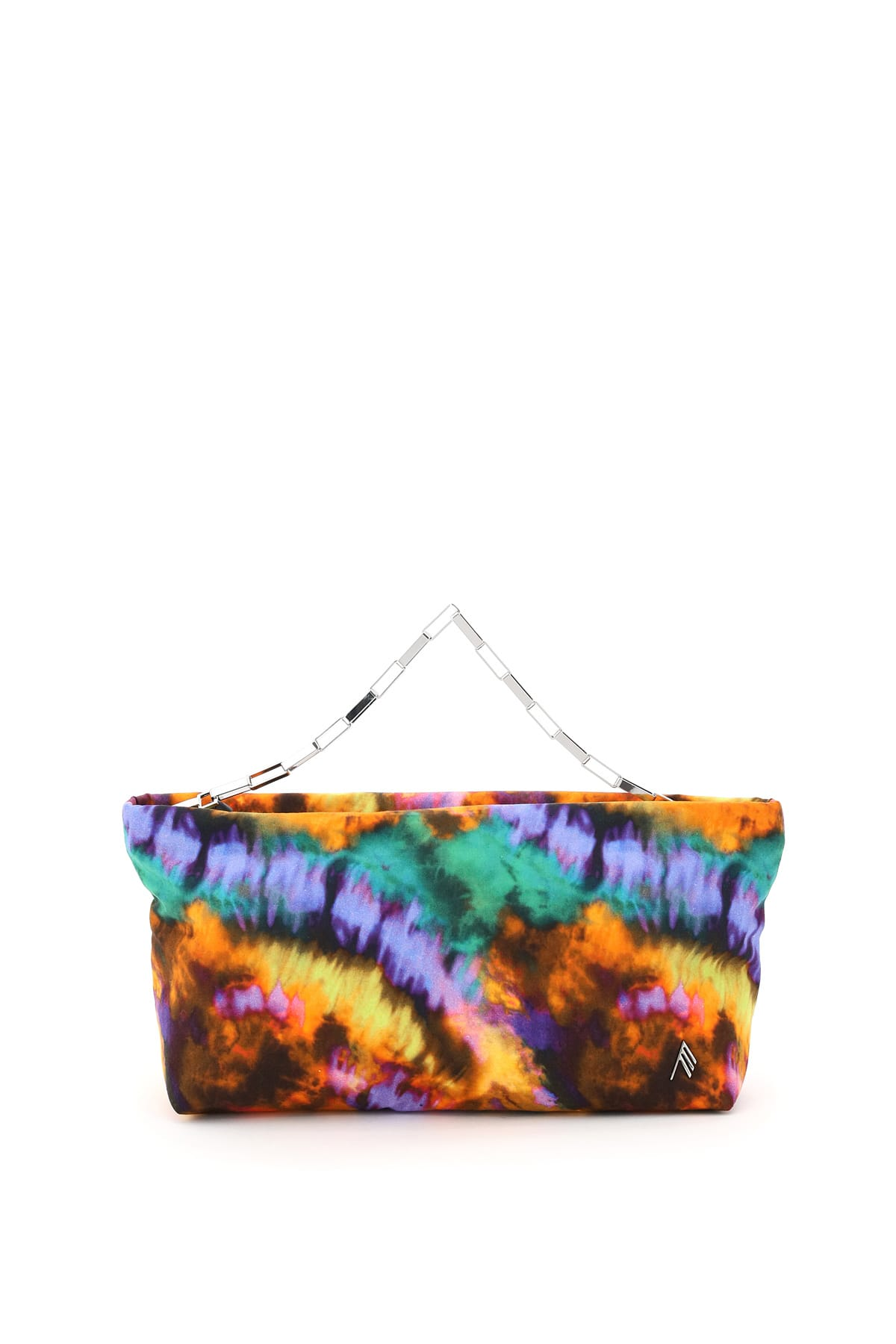Attico WYNONA MEDIUM MULTICOLOR NYLON CLUTCH