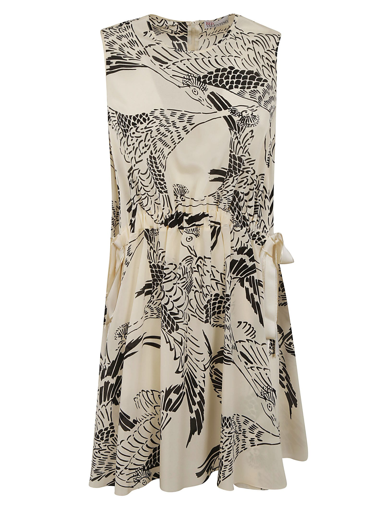 Buy RED Valentino Animal Print Sleeveless Dress online, shop RED Valentino with free shipping