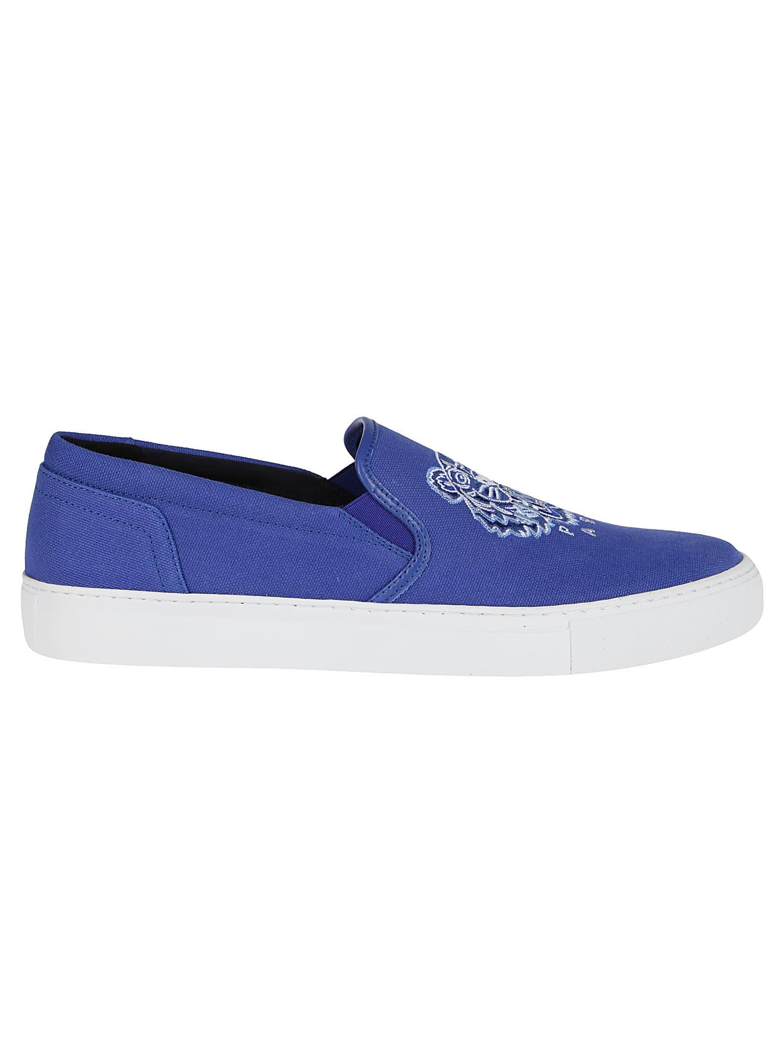 Kenzo Activewears BLUE COTTON ESPADRILLAS