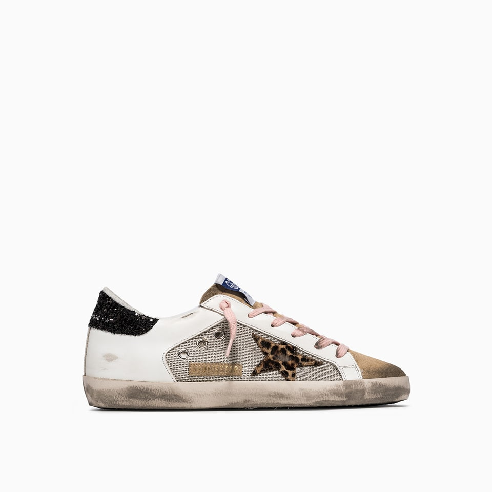 Buy Golden Goose Deluxe Brand Super Star Net Sneakers Gwf00103 F001598 online, shop Golden Goose shoes with free shipping