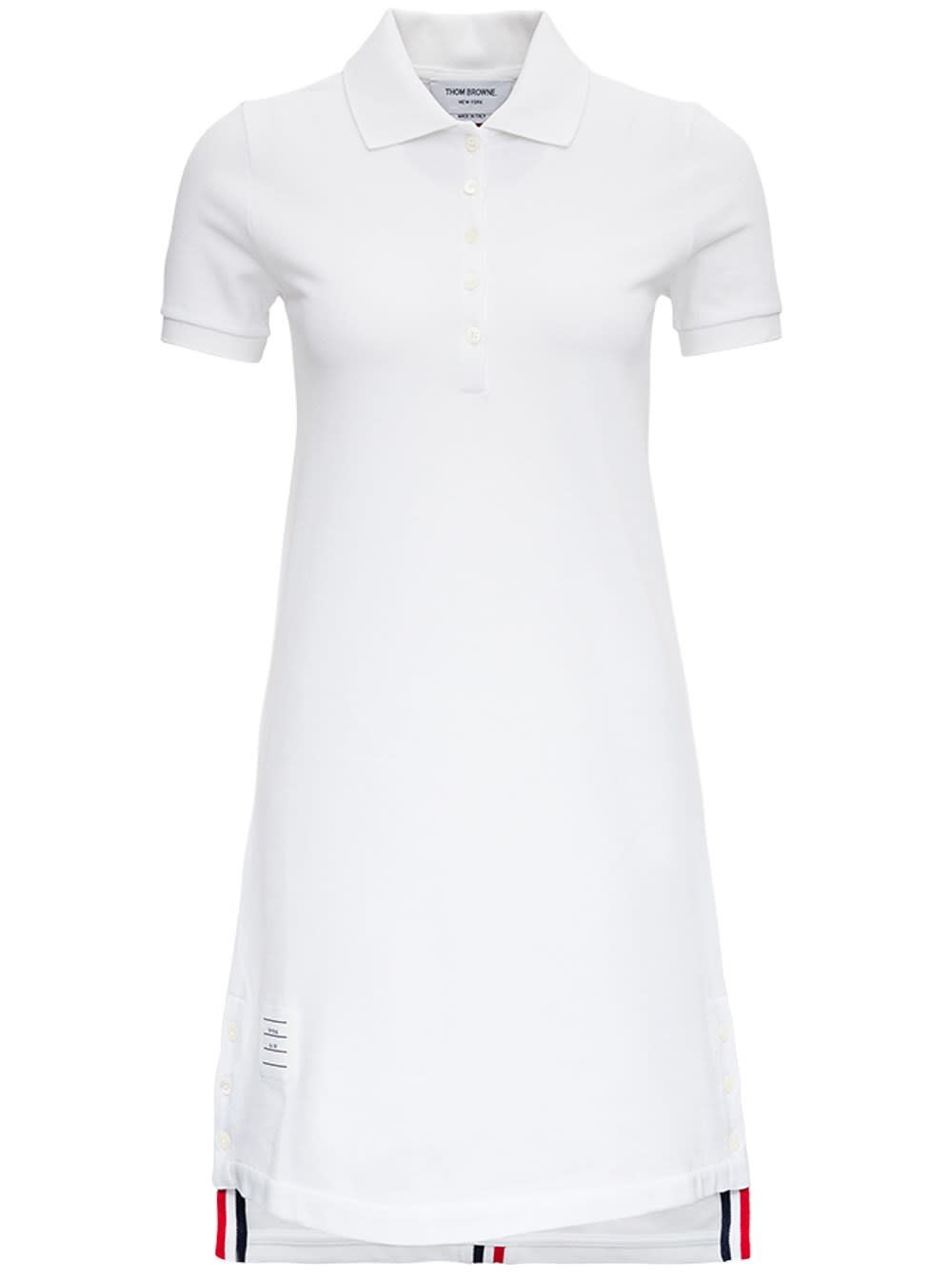 Thom Browne Dresses WHITE FLARED COTTON DRESS