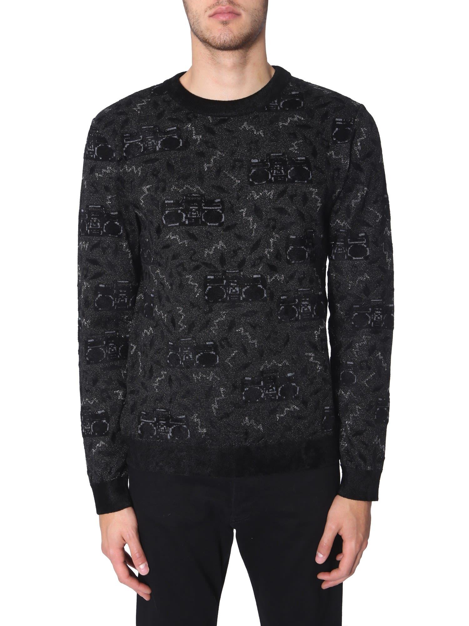 Saint Laurent Oversize Fit Sweater