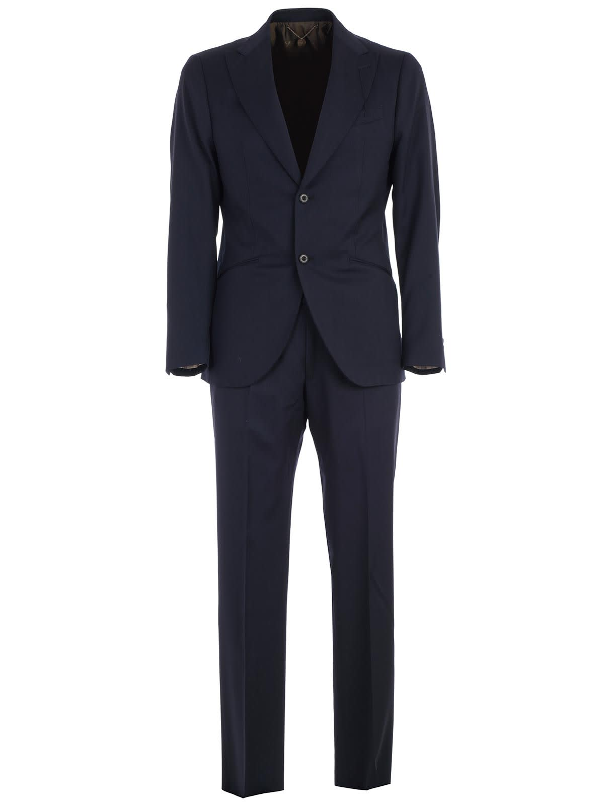 Suit Single Breasted Wool