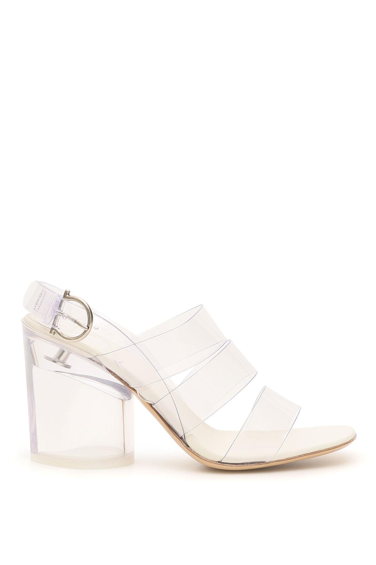Salvatore Ferragamo Trezze Pvc Sandals 85