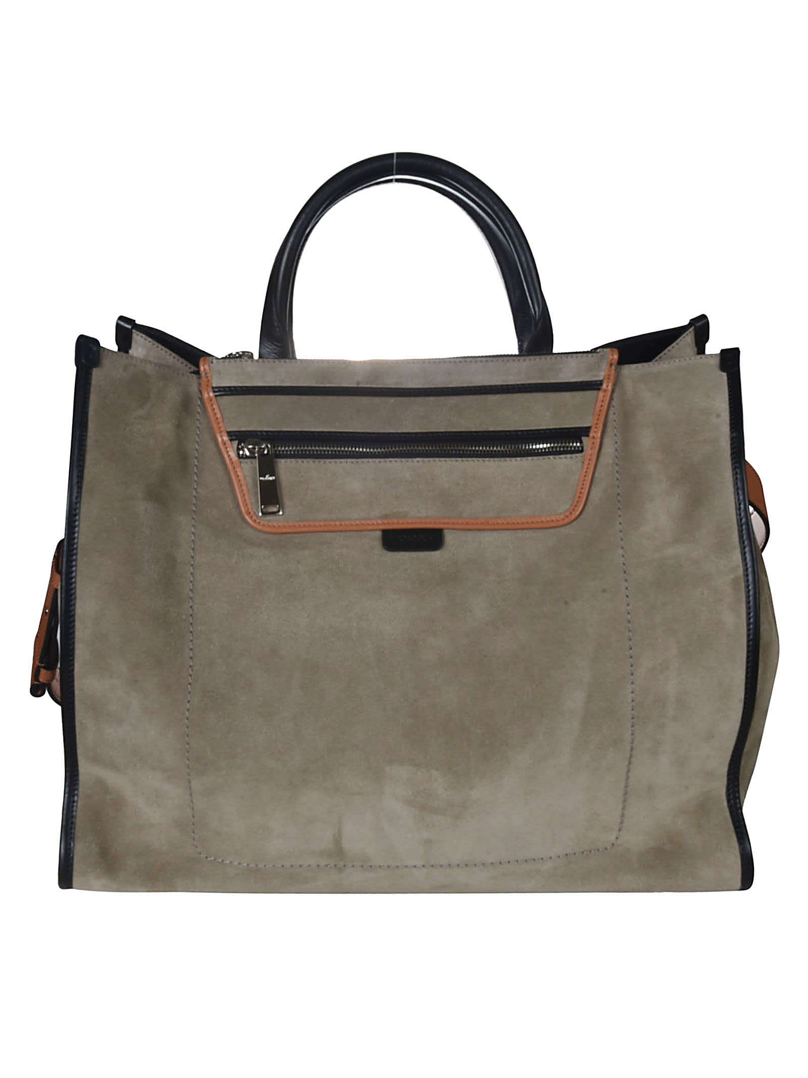 Hogan Totes TOP ZIP FRONT POCKET TOTE