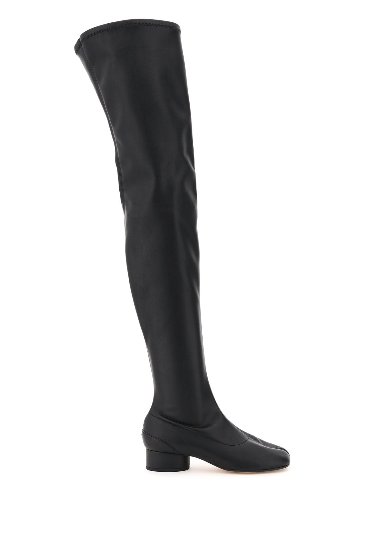 Buy Maison Margiela Over The Knee Tabi Boots online, shop Maison Margiela shoes with free shipping