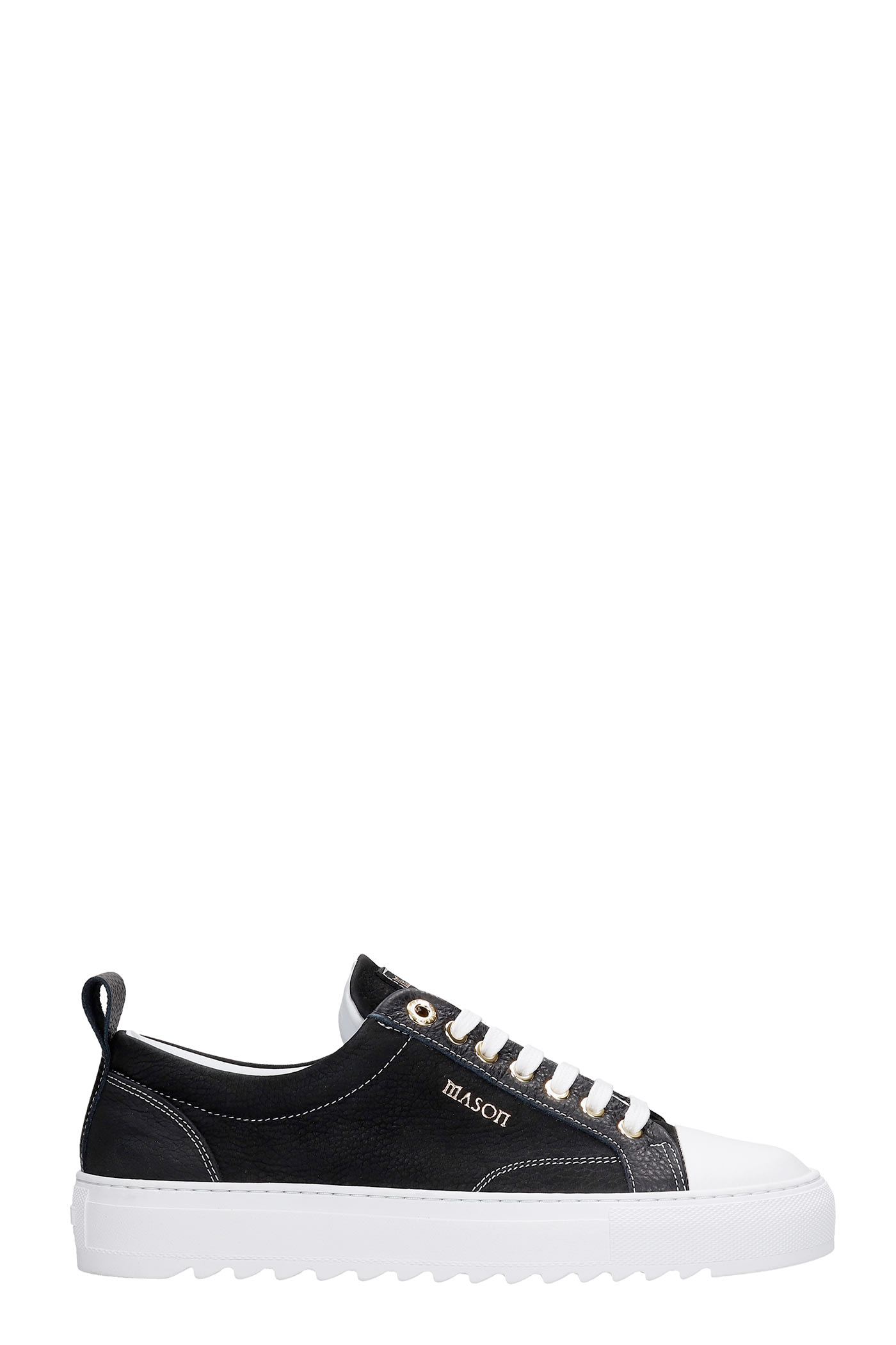 Astro Sneakers In Black Leather
