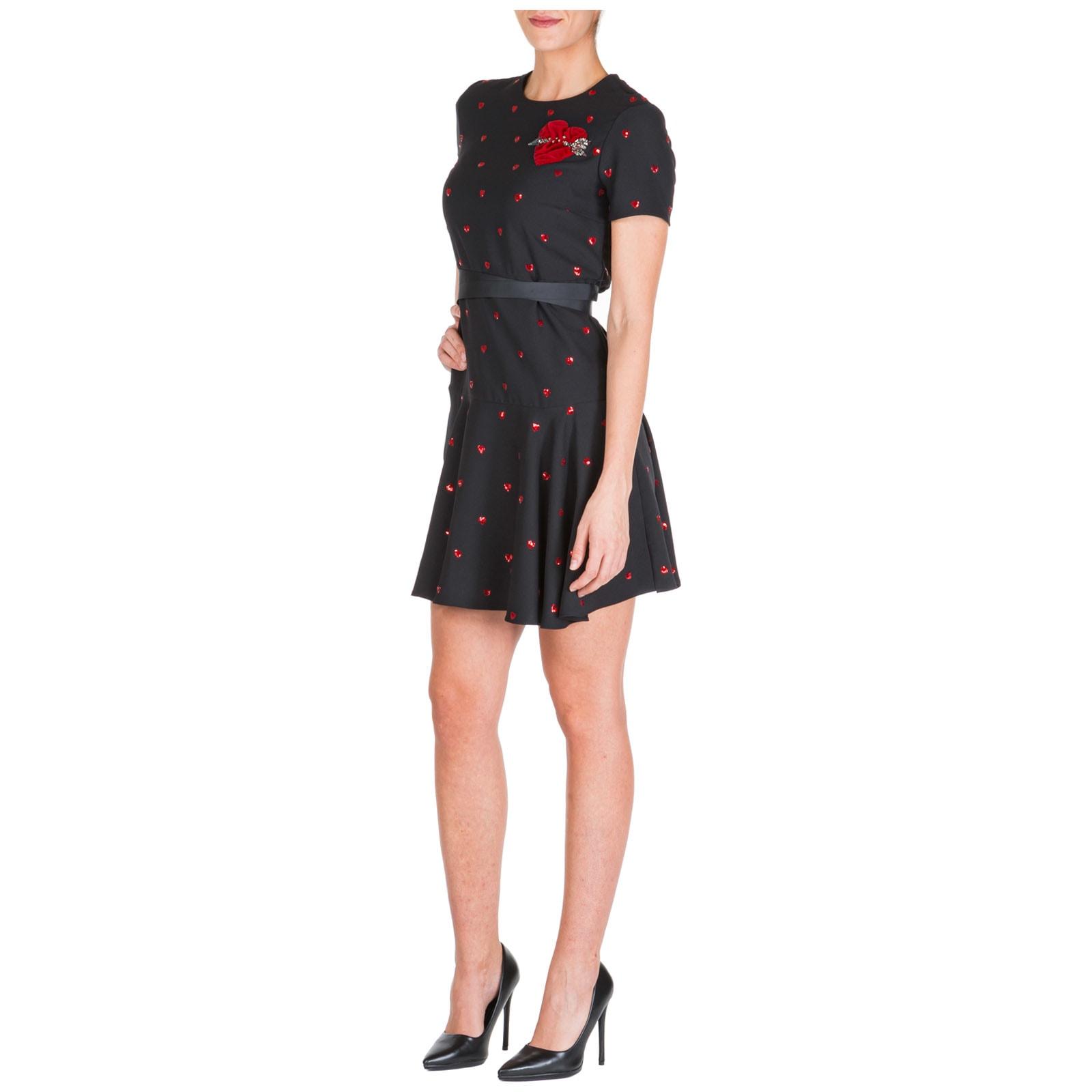 RED Valentino Short Mini Dress Short Sleeve
