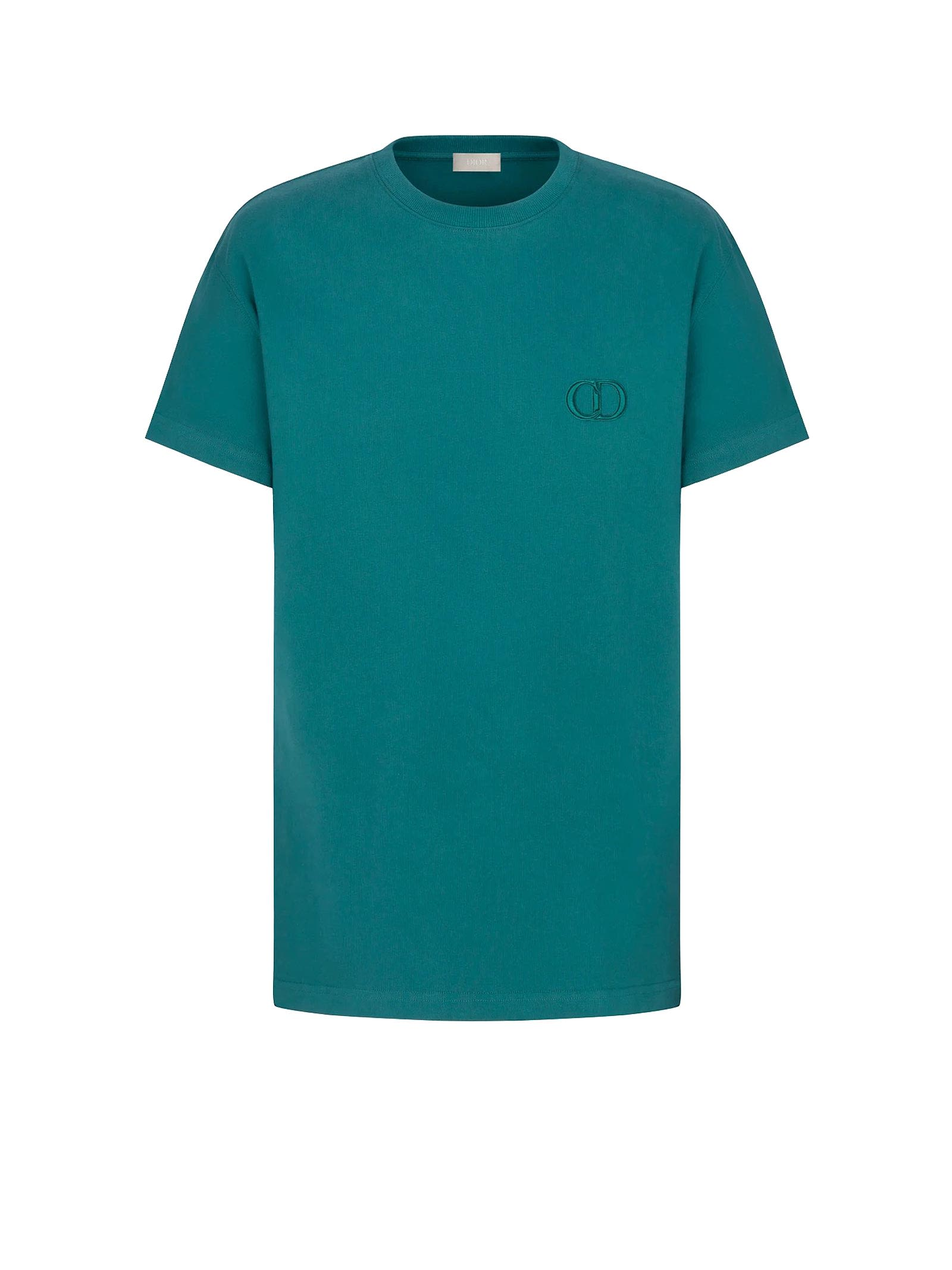 T-shirt In Green Cotton