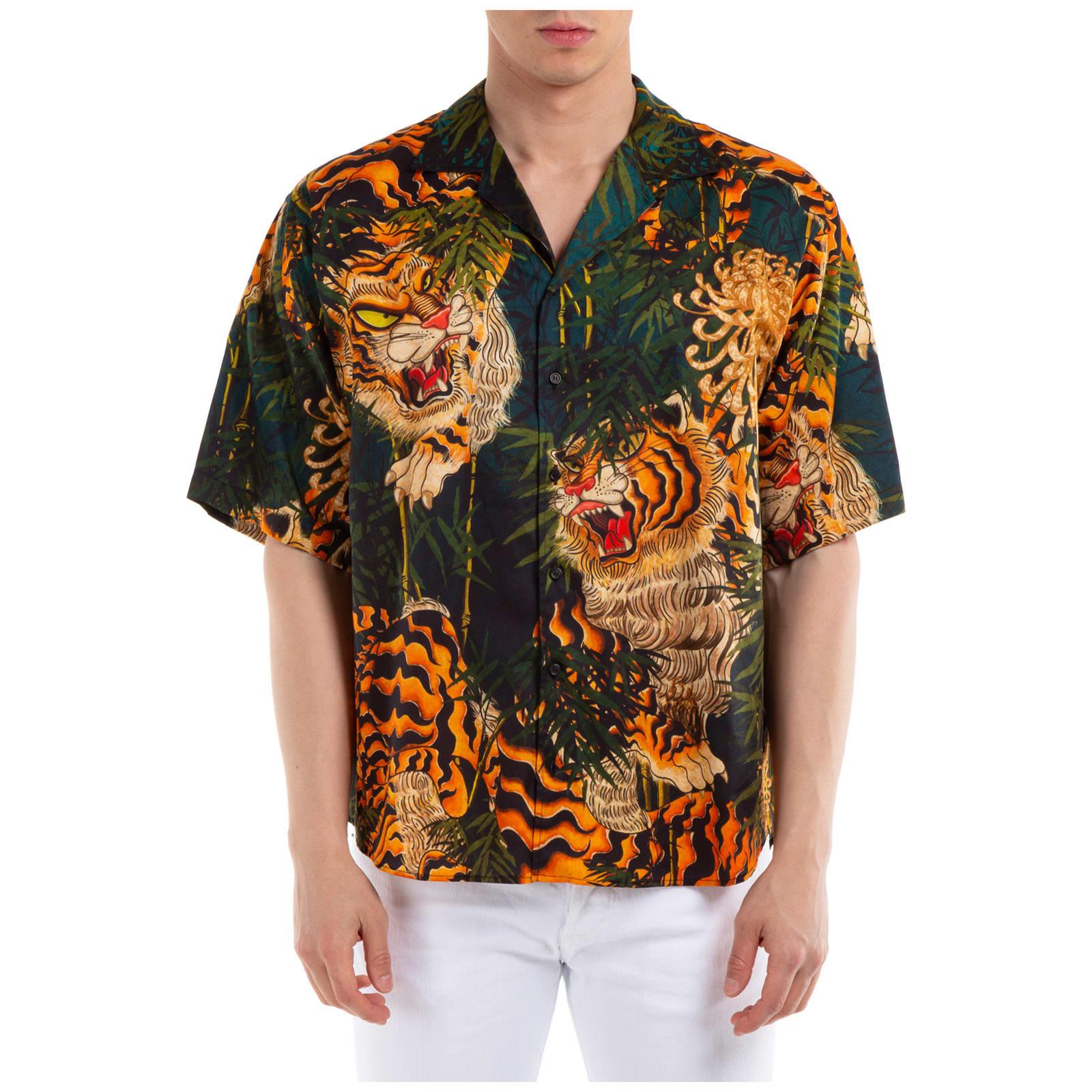 Dsquared2 Monogram Short Sleeve Shirts