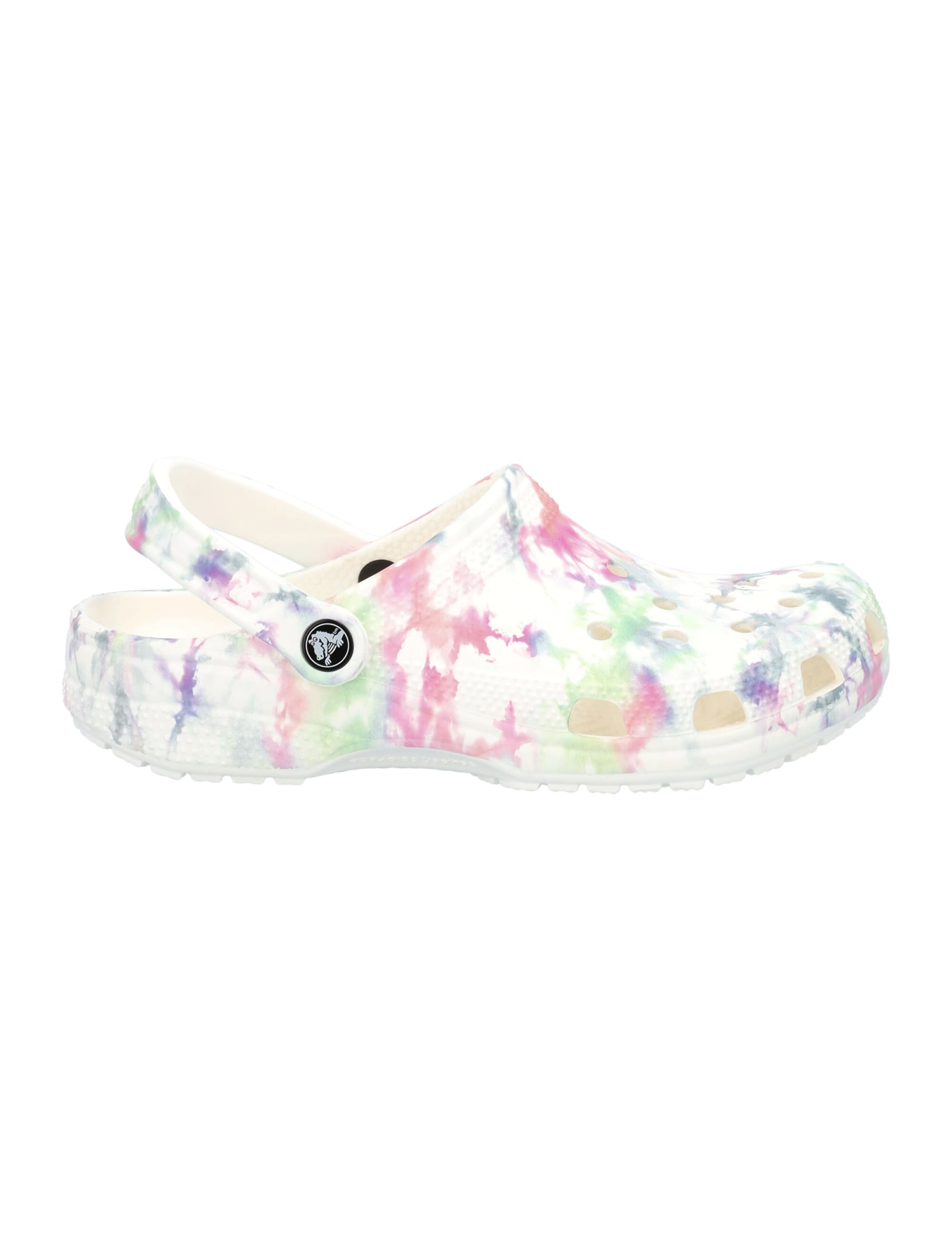 Classic Bleached Tie Dye Clog