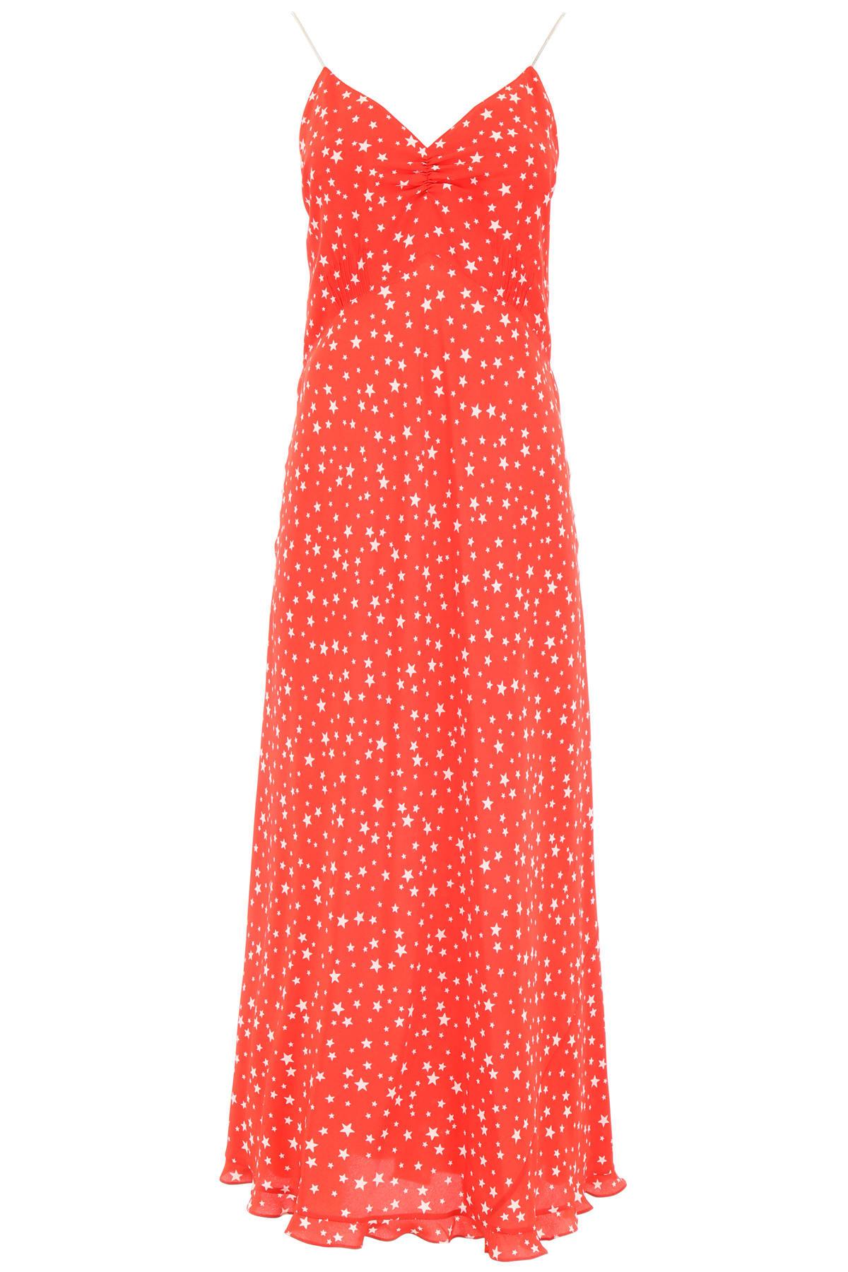 Miu Miu Long Dress With Stars