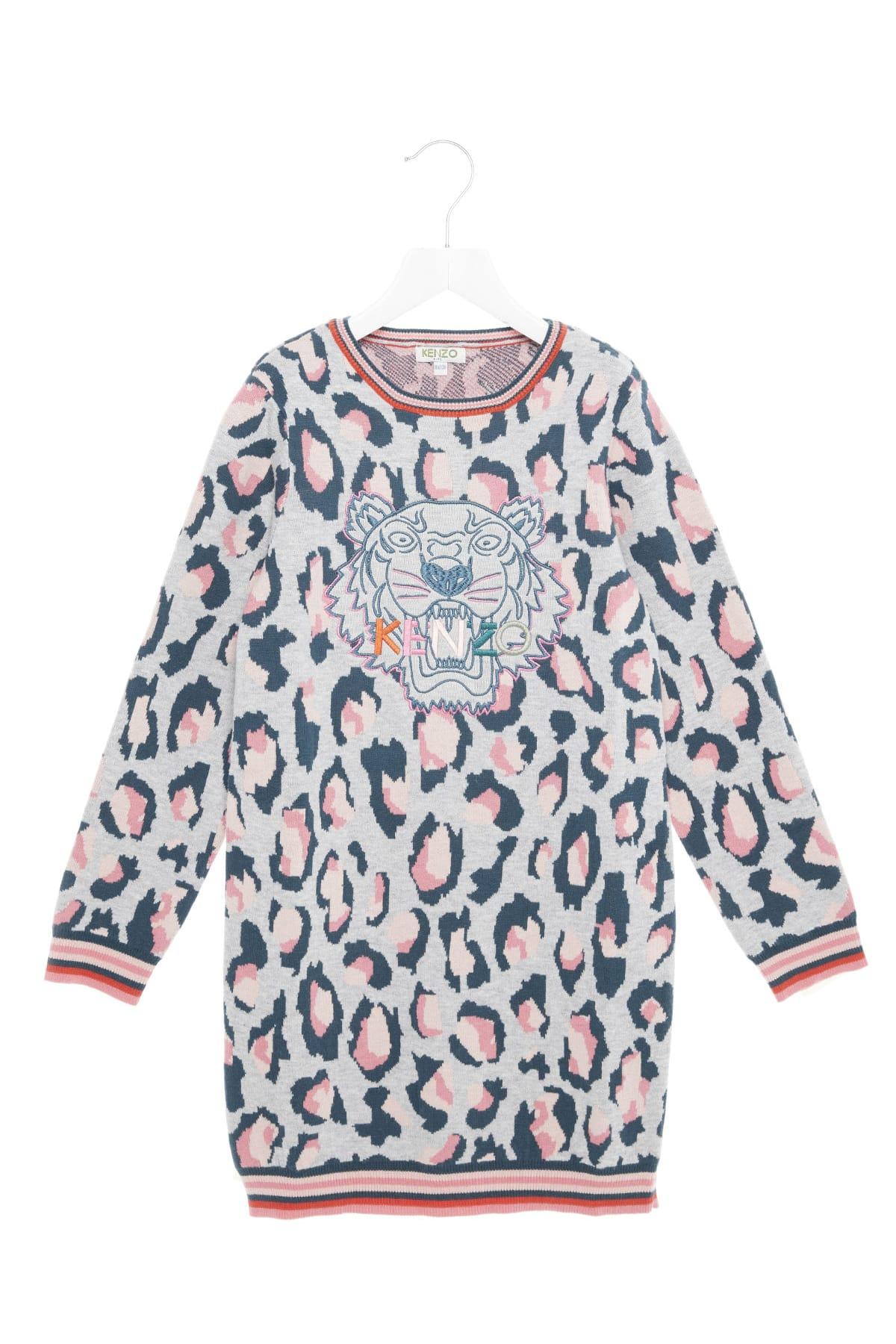 Photo of  Kenzo Kids tiger Jg Dress- shop Kenzo Kids  online sales