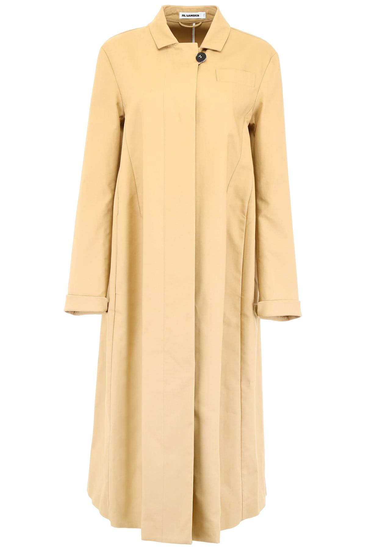 Jil Sander Deconstructed Coat